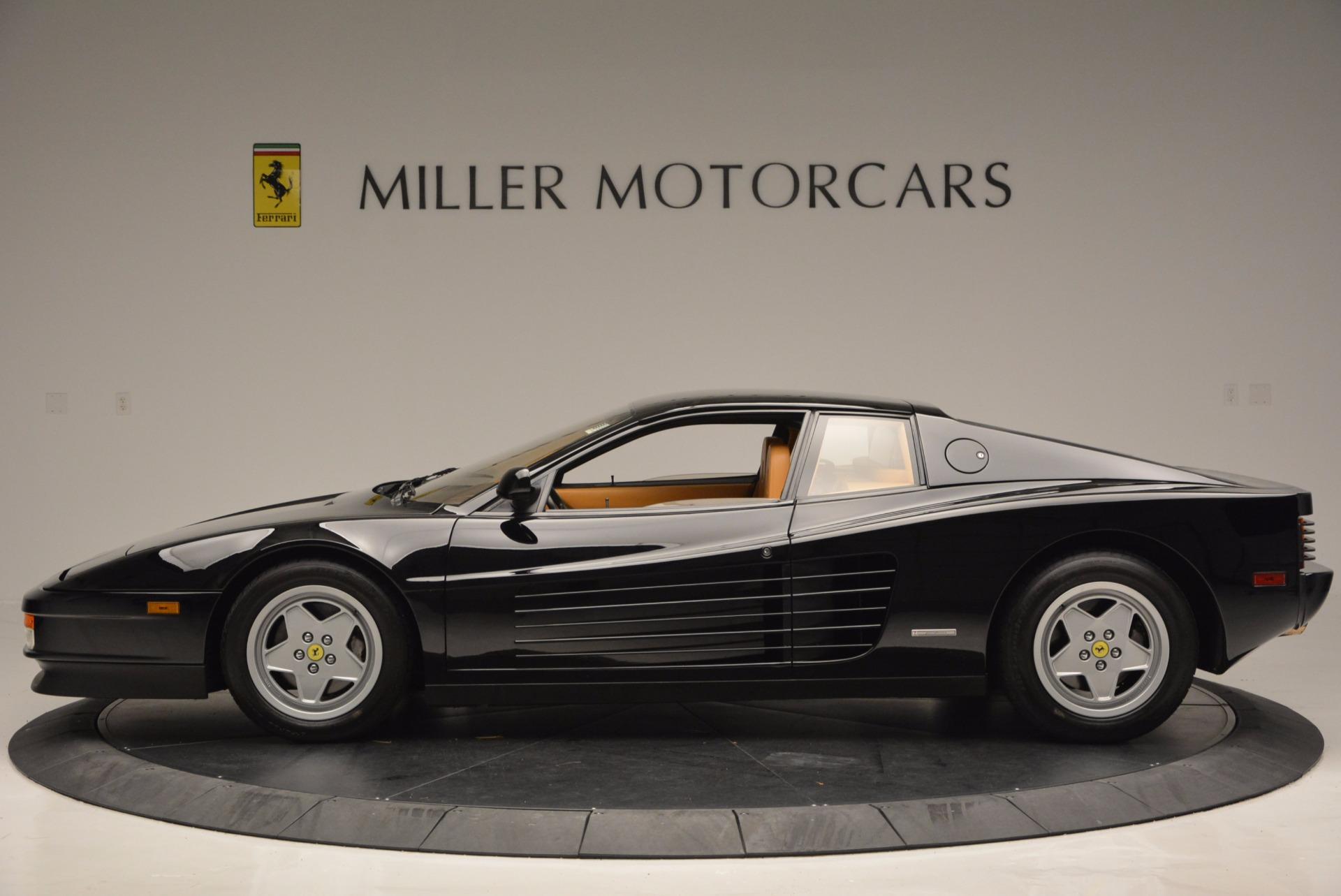 Used 1989 Ferrari Testarossa  For Sale In Greenwich, CT. Alfa Romeo of Greenwich, 4343 622_p3