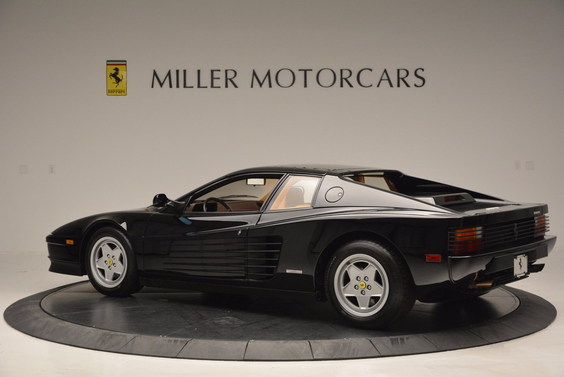 Used 1989 Ferrari Testarossa  For Sale In Greenwich, CT. Alfa Romeo of Greenwich, 4343 622_p4