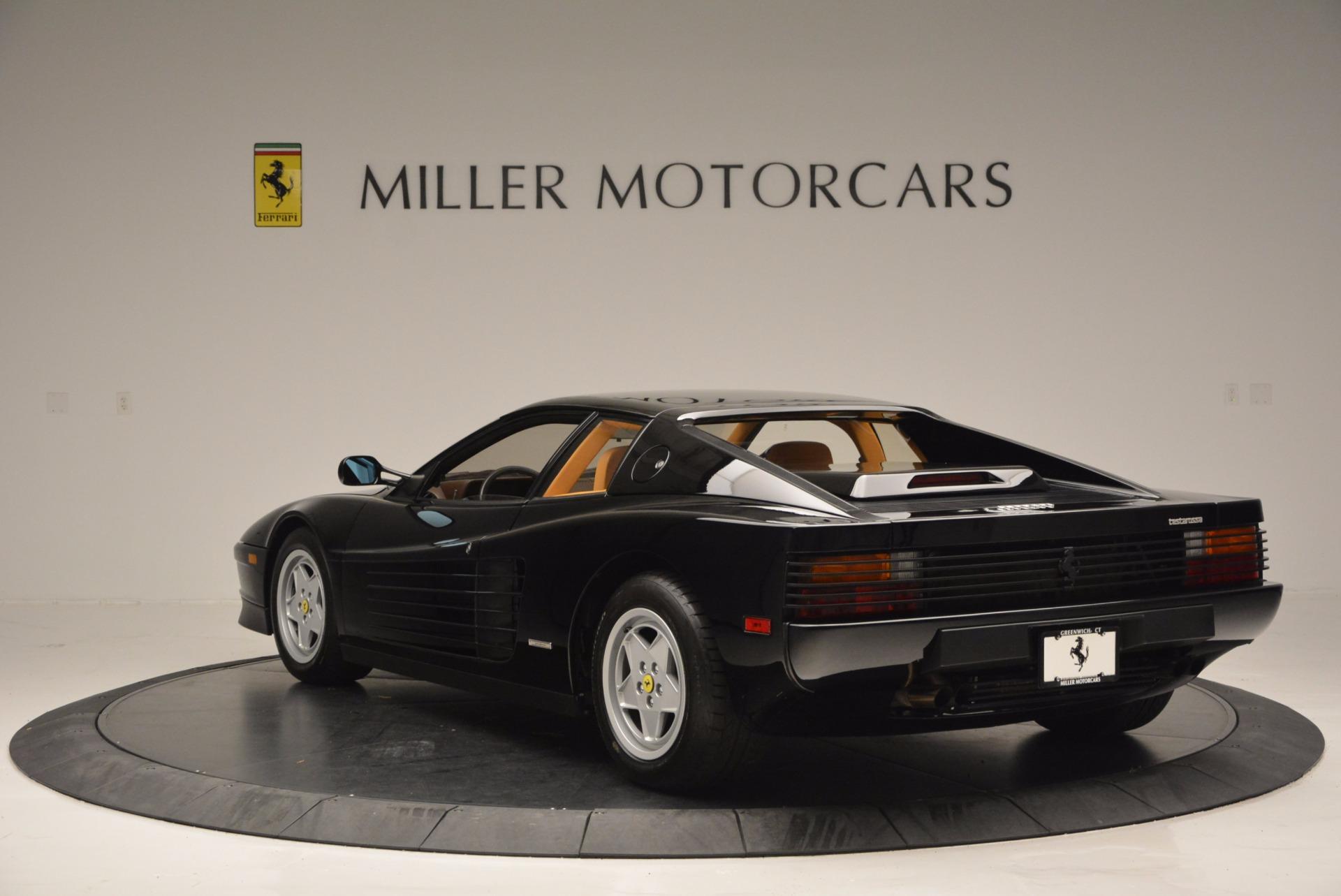 Used 1989 Ferrari Testarossa  For Sale In Greenwich, CT. Alfa Romeo of Greenwich, 4343 622_p5