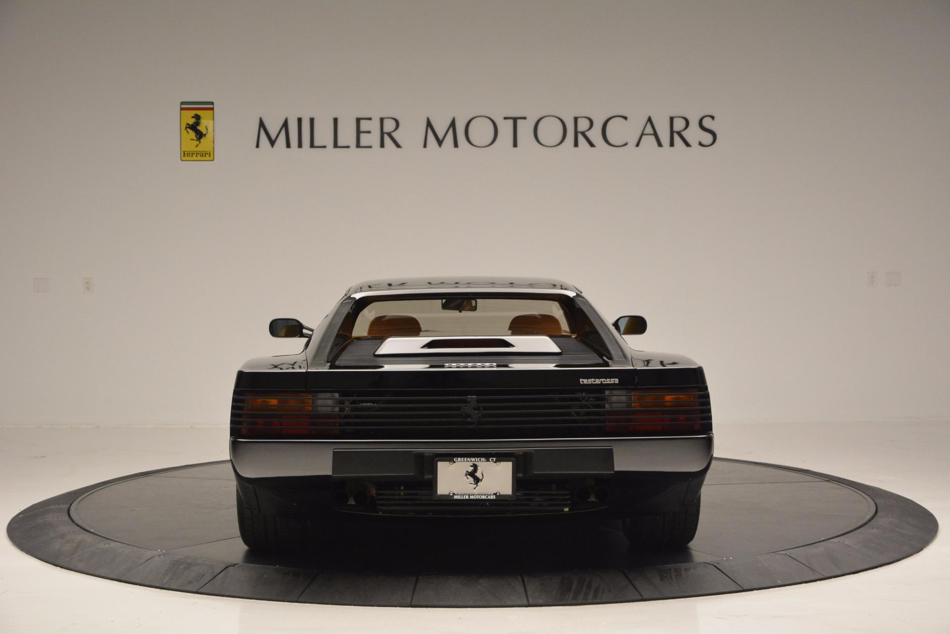 Used 1989 Ferrari Testarossa  For Sale In Greenwich, CT. Alfa Romeo of Greenwich, 4343 622_p6