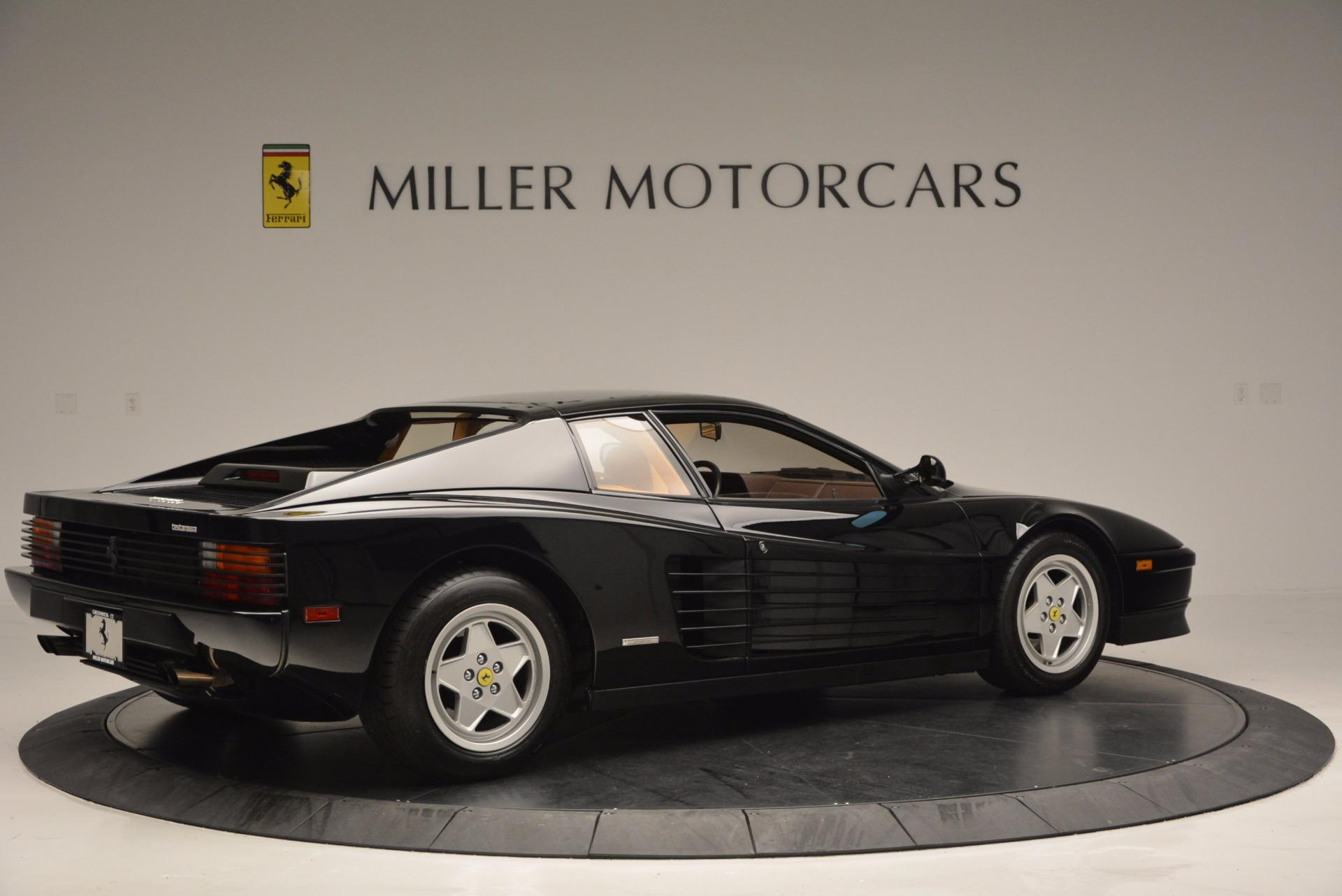Used 1989 Ferrari Testarossa  For Sale In Greenwich, CT. Alfa Romeo of Greenwich, 4343 622_p8