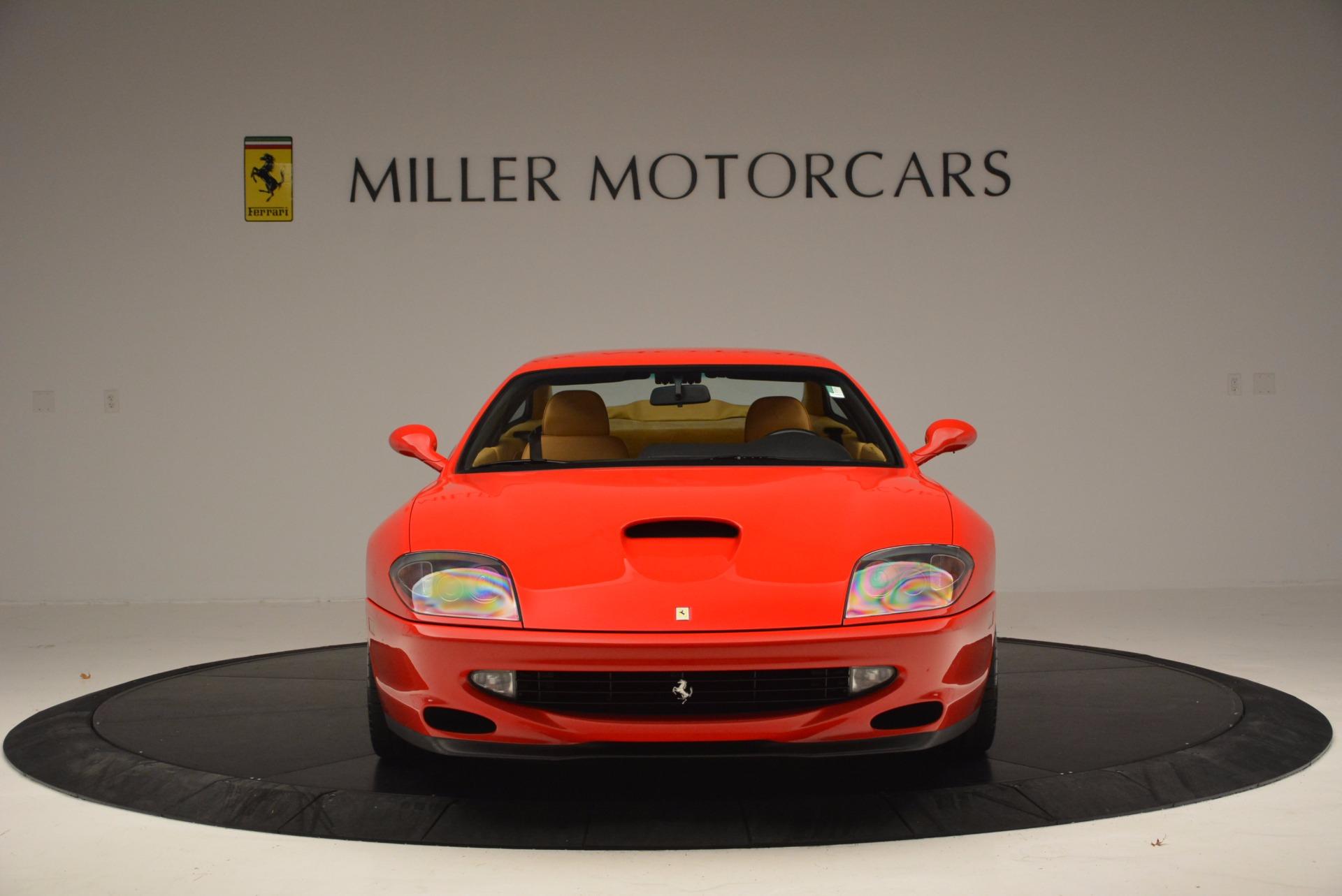 Used 2000 Ferrari 550 Maranello  For Sale In Greenwich, CT. Alfa Romeo of Greenwich, 4325 623_p12