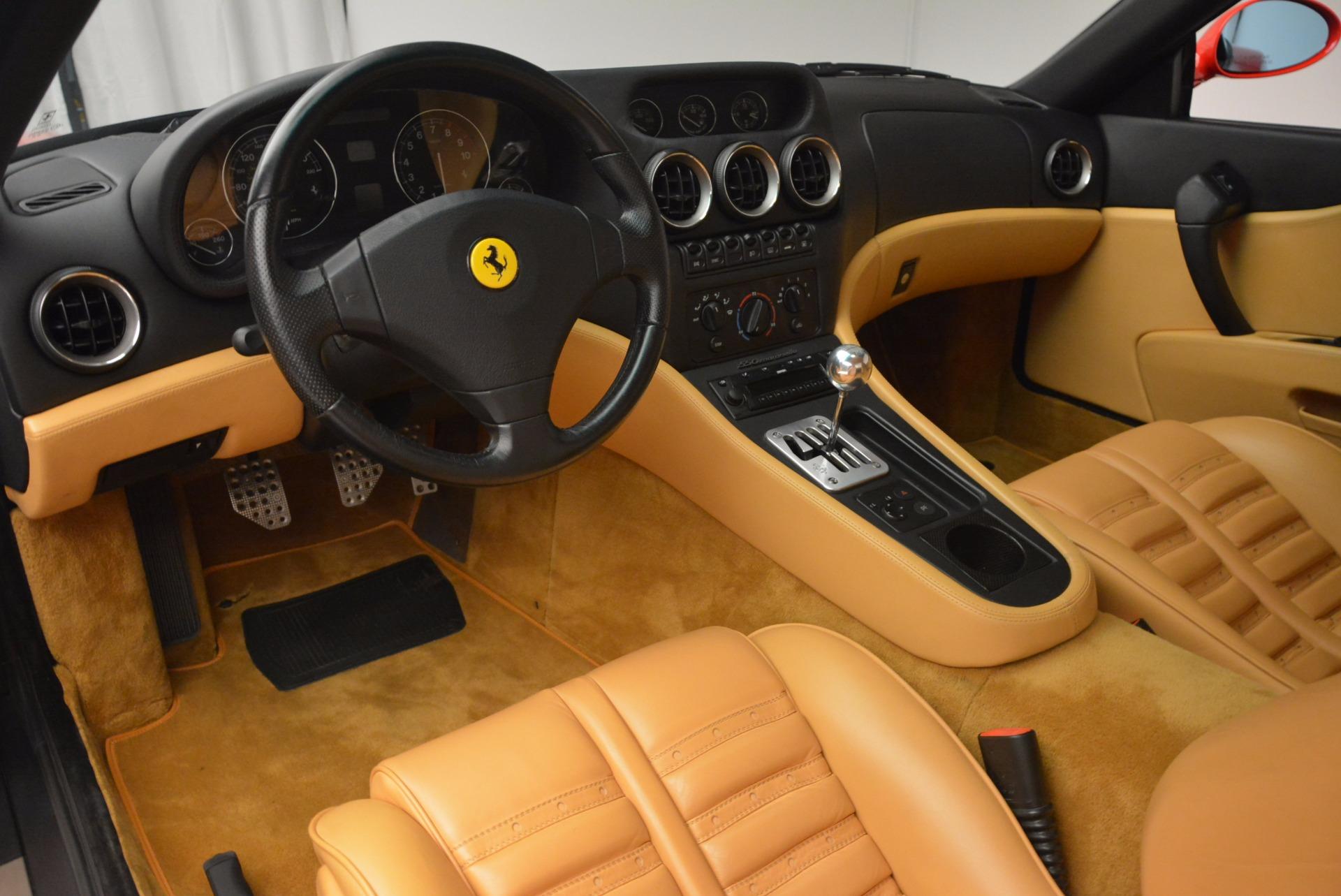 Used 2000 Ferrari 550 Maranello  For Sale In Greenwich, CT. Alfa Romeo of Greenwich, 4325 623_p13
