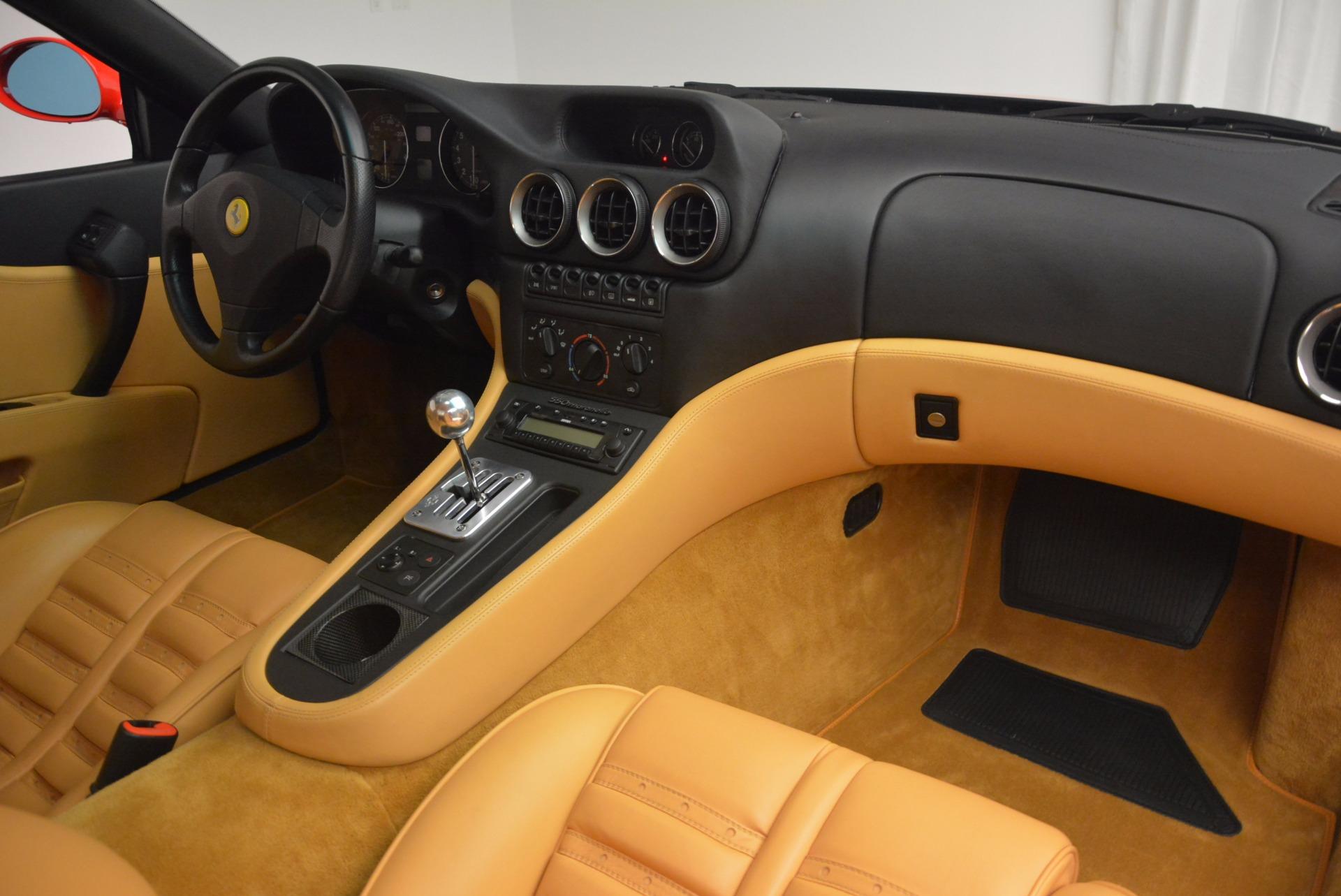 Used 2000 Ferrari 550 Maranello  For Sale In Greenwich, CT. Alfa Romeo of Greenwich, 4325 623_p17
