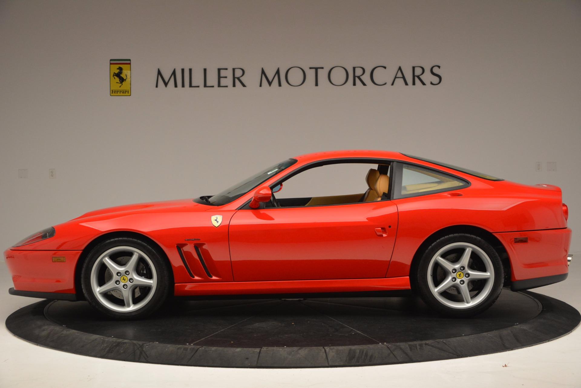 Used 2000 Ferrari 550 Maranello  For Sale In Greenwich, CT. Alfa Romeo of Greenwich, 4325 623_p3