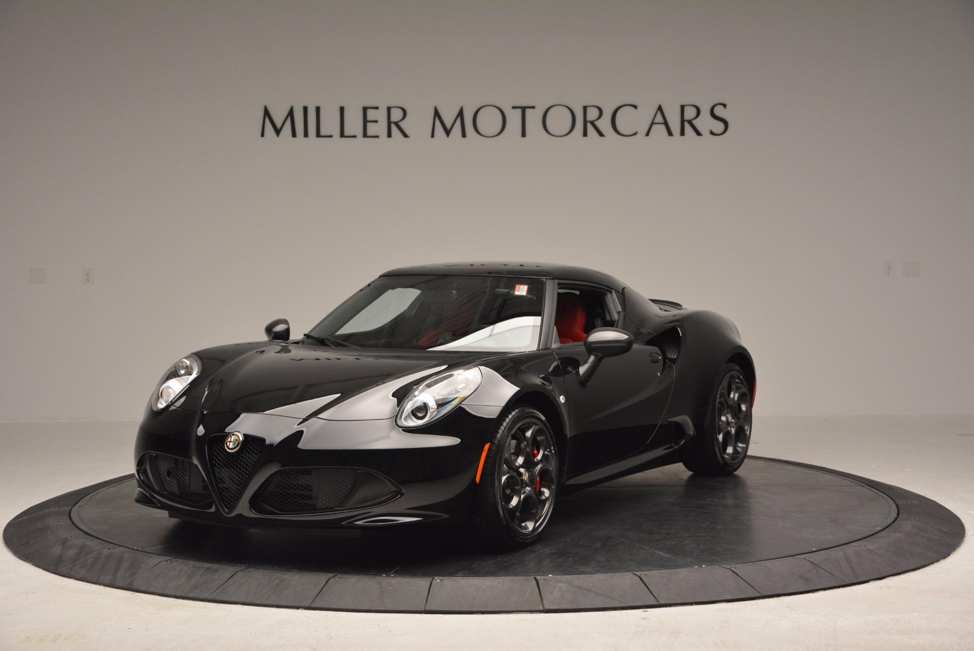 New 2016 Alfa Romeo 4C  For Sale In Greenwich, CT. Alfa Romeo of Greenwich, L034 624_main