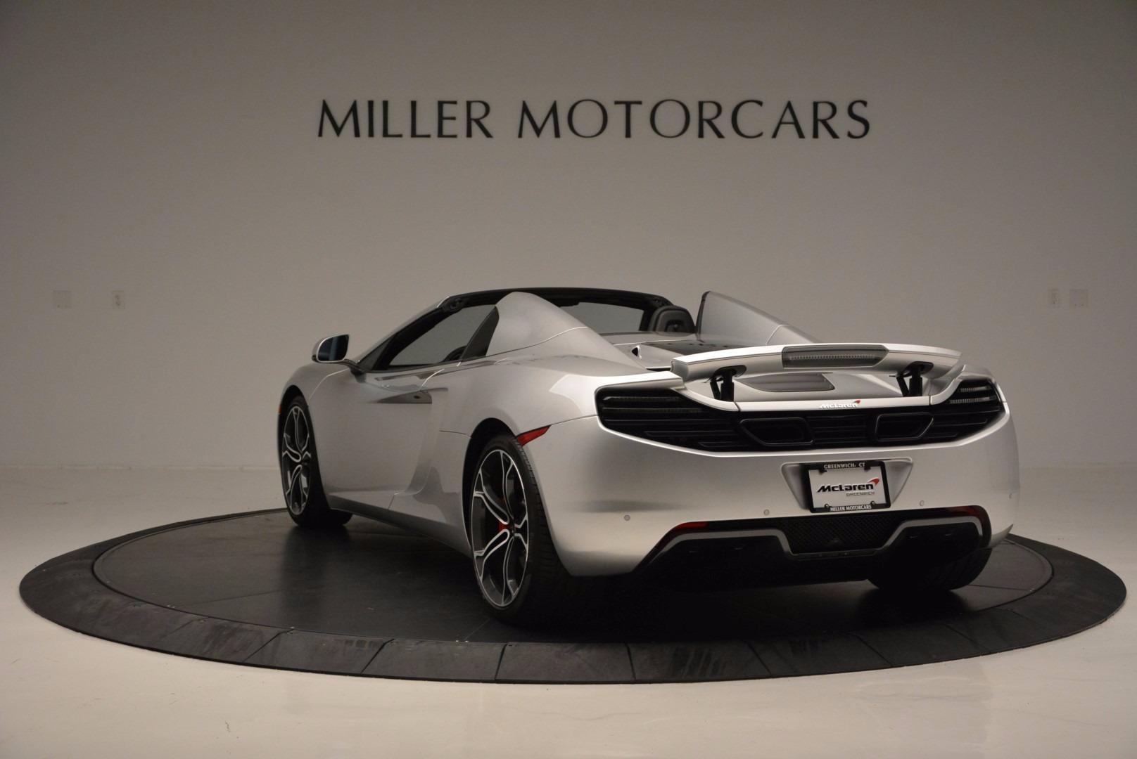 Used 2014 McLaren MP4-12C Spider  For Sale In Greenwich, CT. Alfa Romeo of Greenwich, 3089 627_p5