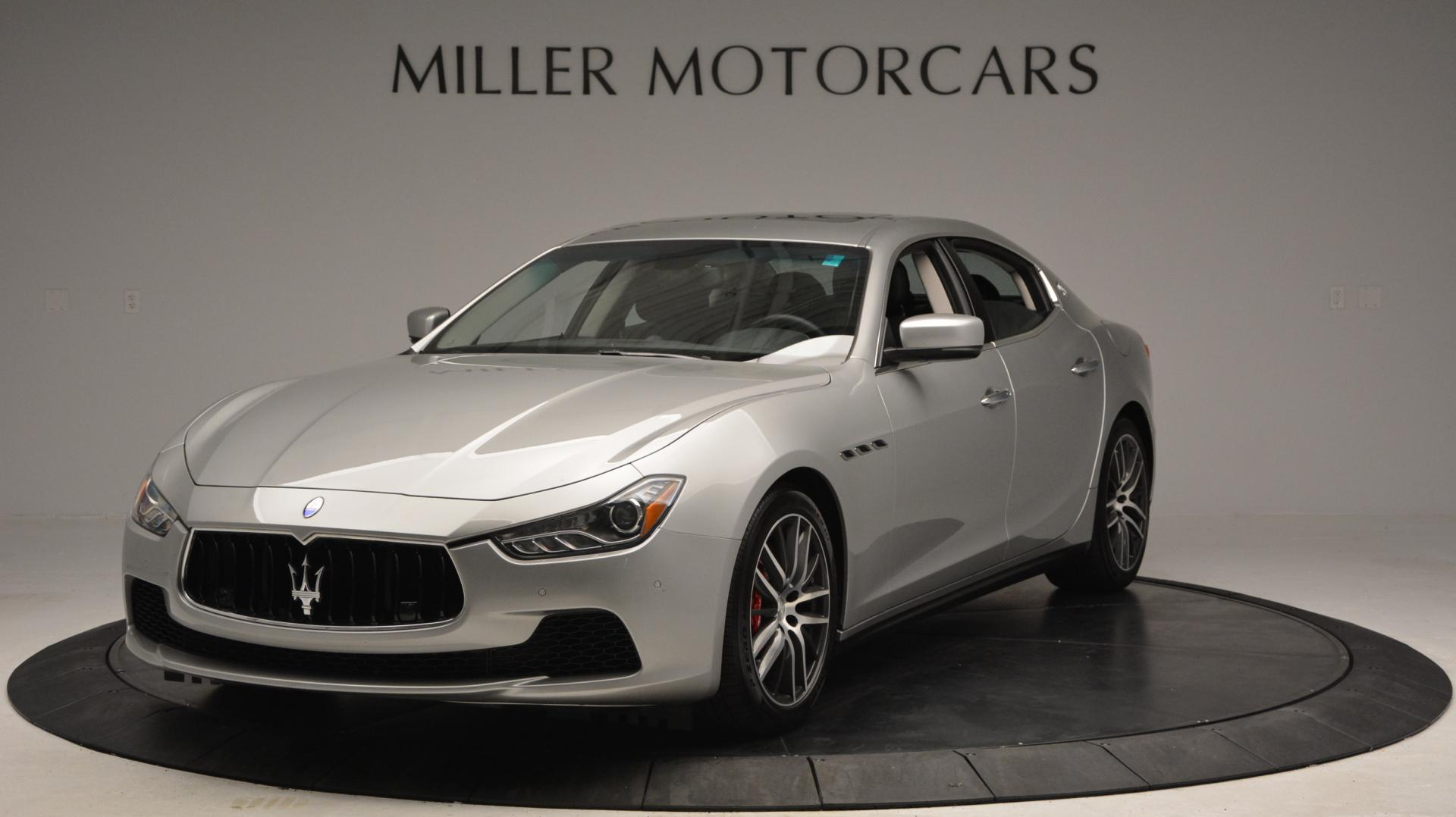 New 2016 Maserati Ghibli S Q4 For Sale In Greenwich, CT. Alfa Romeo of Greenwich, W232