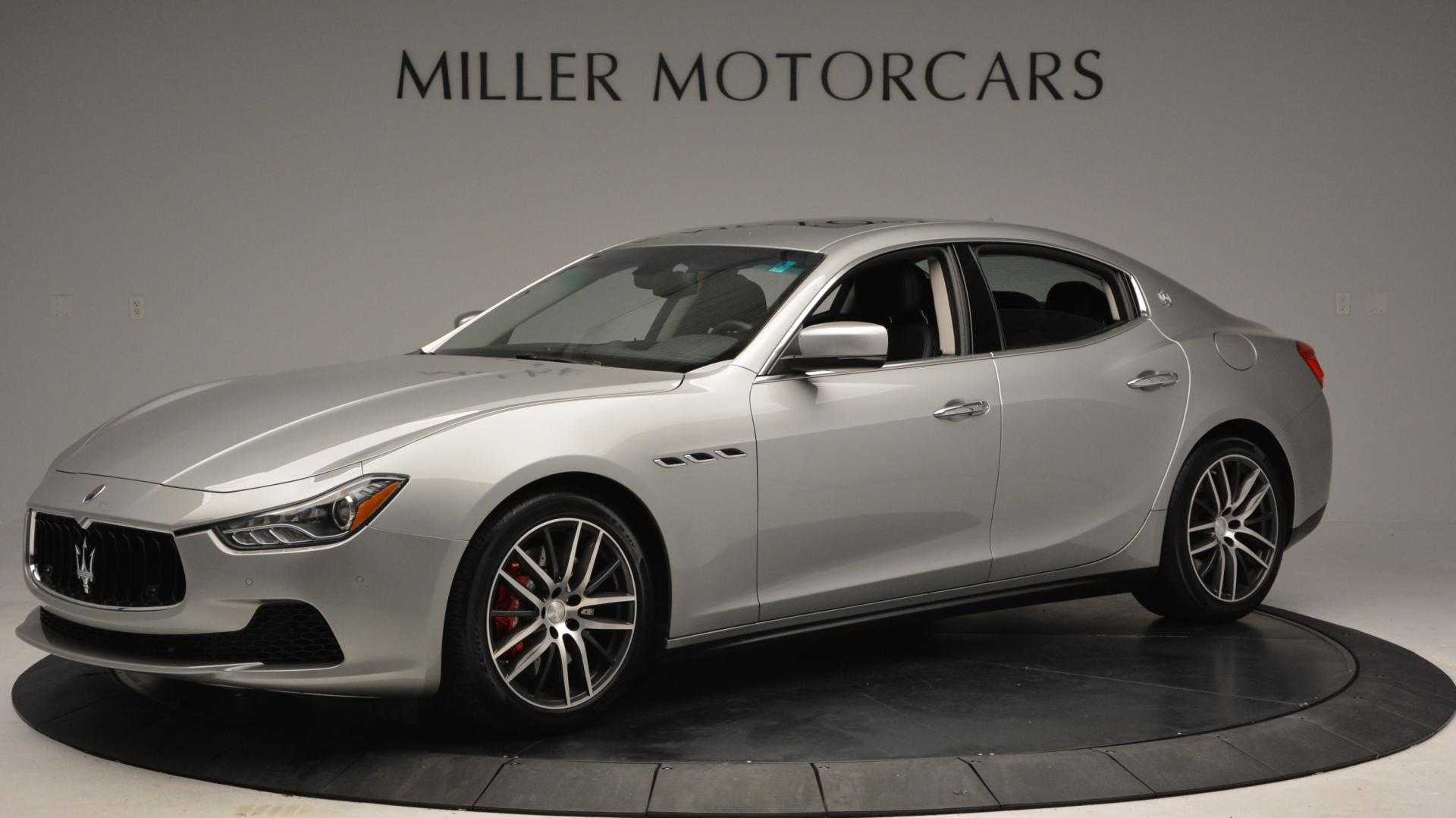 New 2016 Maserati Ghibli S Q4 For Sale In Greenwich, CT. Alfa Romeo of Greenwich, W232 63_p2