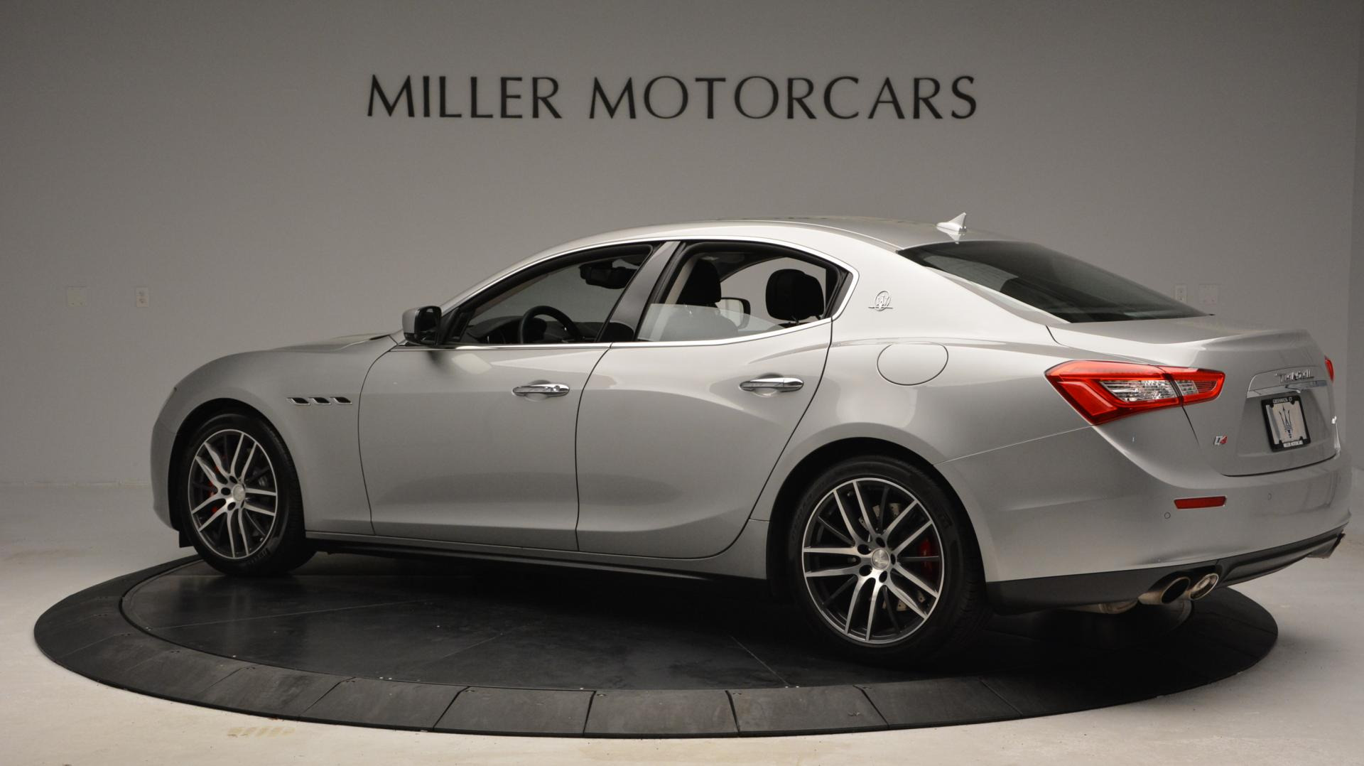 New 2016 Maserati Ghibli S Q4 For Sale In Greenwich, CT. Alfa Romeo of Greenwich, W232 63_p4