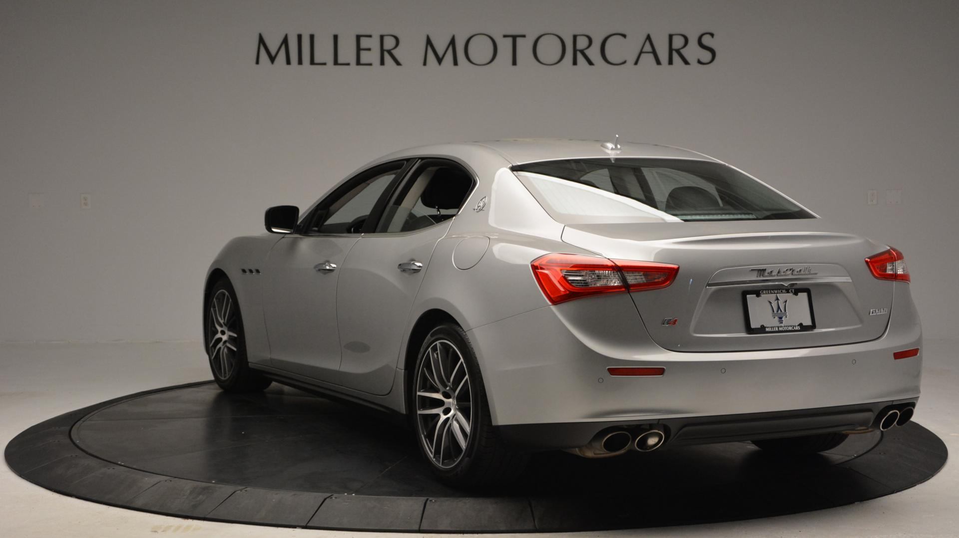 New 2016 Maserati Ghibli S Q4 For Sale In Greenwich, CT. Alfa Romeo of Greenwich, W232 63_p5