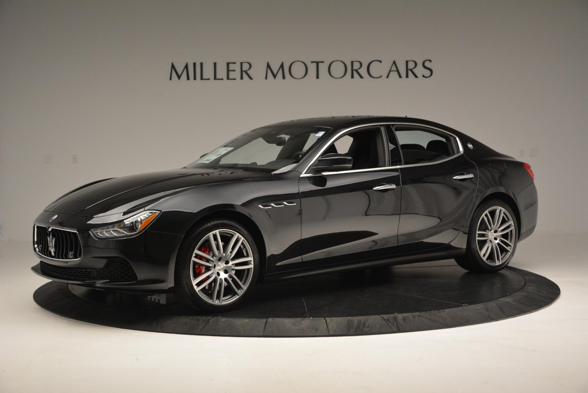 New 2017 Maserati Ghibli S Q4 For Sale In Greenwich, CT. Alfa Romeo of Greenwich, W344 630_p2