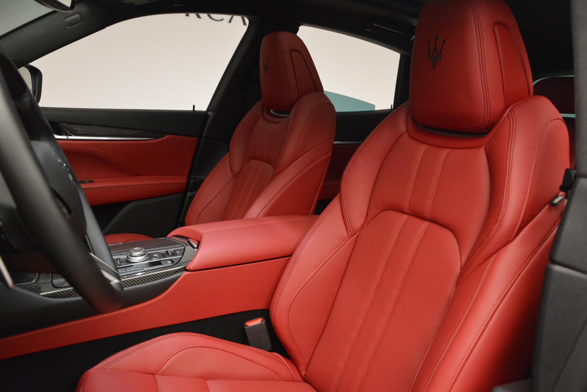 Used 2017 Maserati Levante Ex Service Loaner For Sale In Greenwich, CT. Alfa Romeo of Greenwich, W343 631_p15