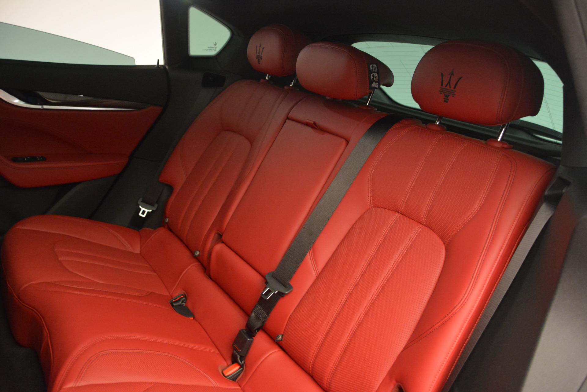 Used 2017 Maserati Levante Ex Service Loaner For Sale In Greenwich, CT. Alfa Romeo of Greenwich, W343 631_p20