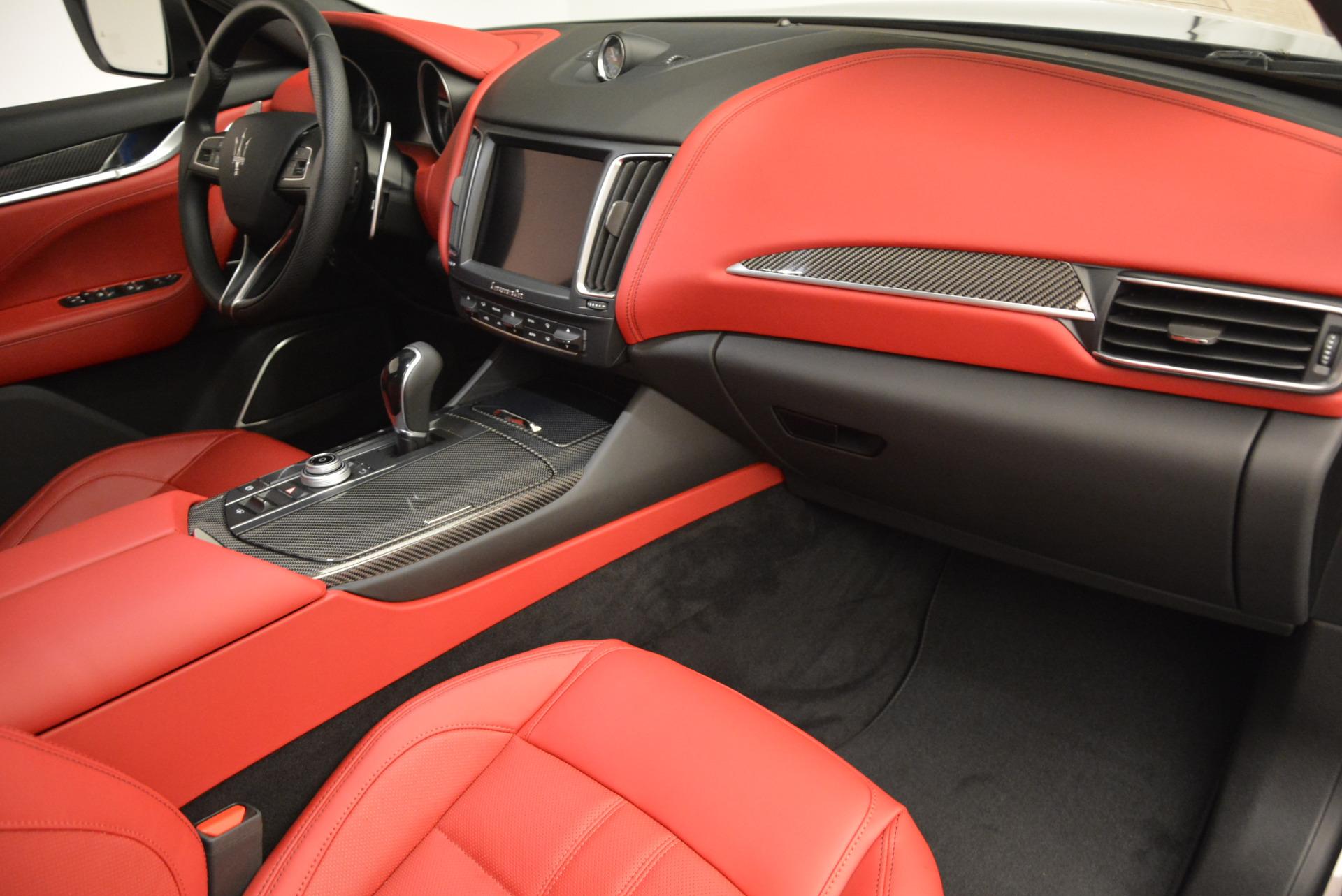 Used 2017 Maserati Levante Ex Service Loaner For Sale In Greenwich, CT. Alfa Romeo of Greenwich, W343 631_p21