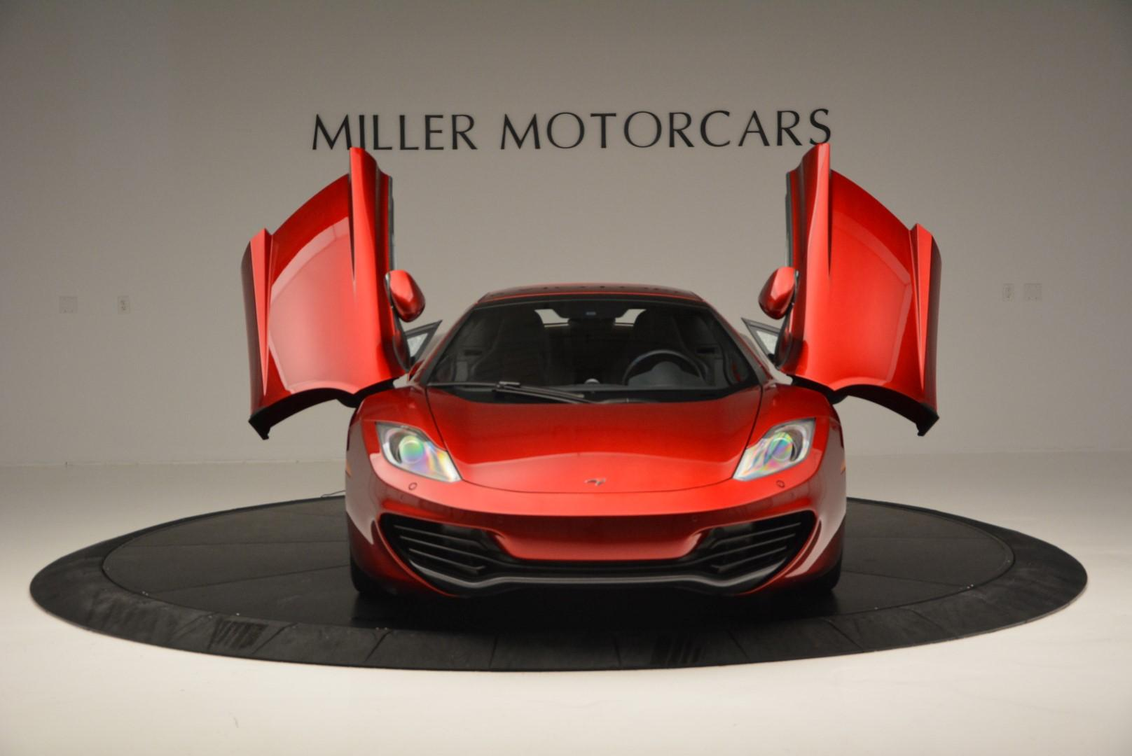 Used 2013 McLaren MP4-12C Base For Sale In Greenwich, CT. Alfa Romeo of Greenwich, 3066C 64_p20