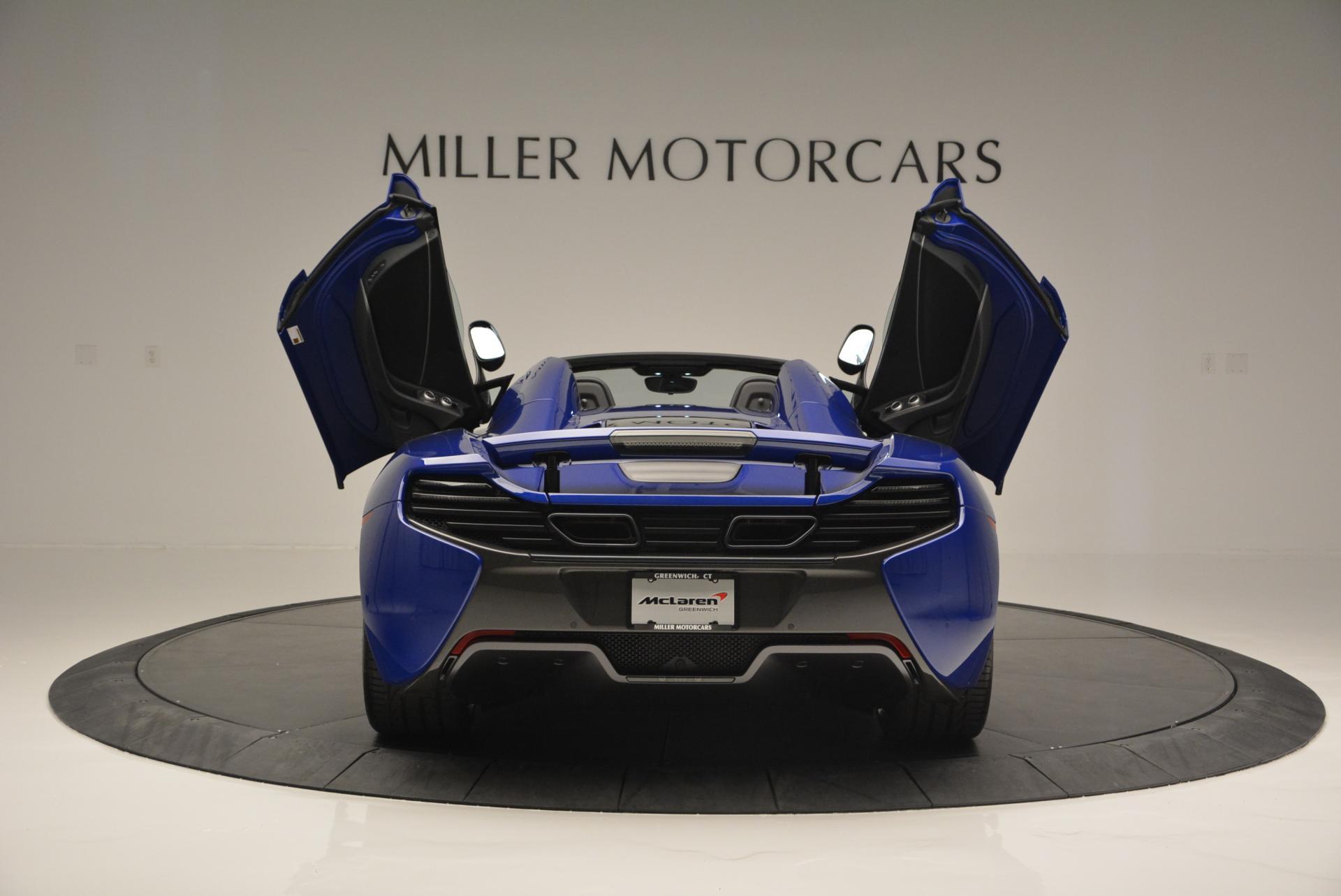 Used 2016 McLaren 650S Spider  For Sale In Greenwich, CT. Alfa Romeo of Greenwich, MC238 65_p21