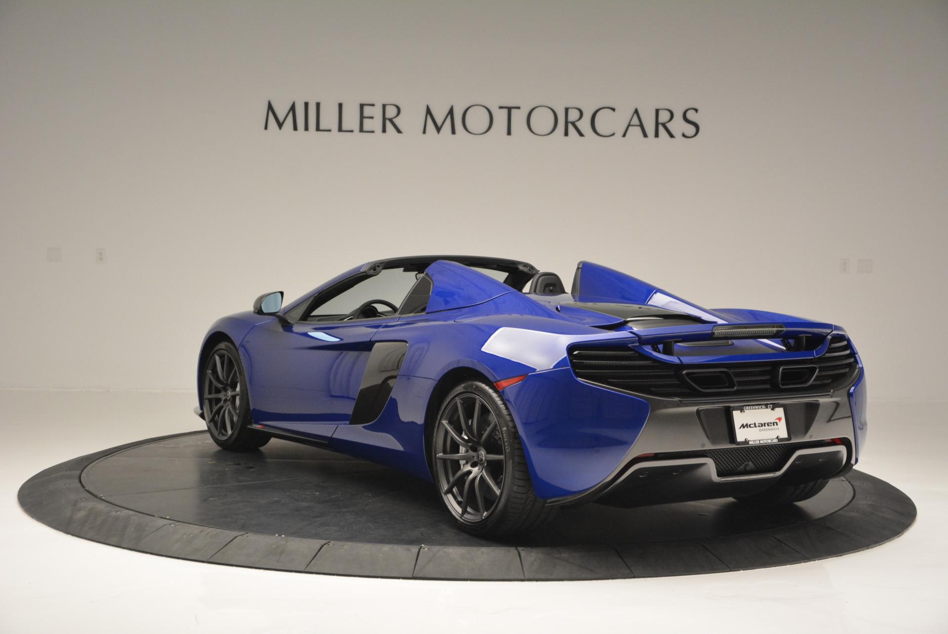 Used 2016 McLaren 650S Spider  For Sale In Greenwich, CT. Alfa Romeo of Greenwich, MC238 65_p5