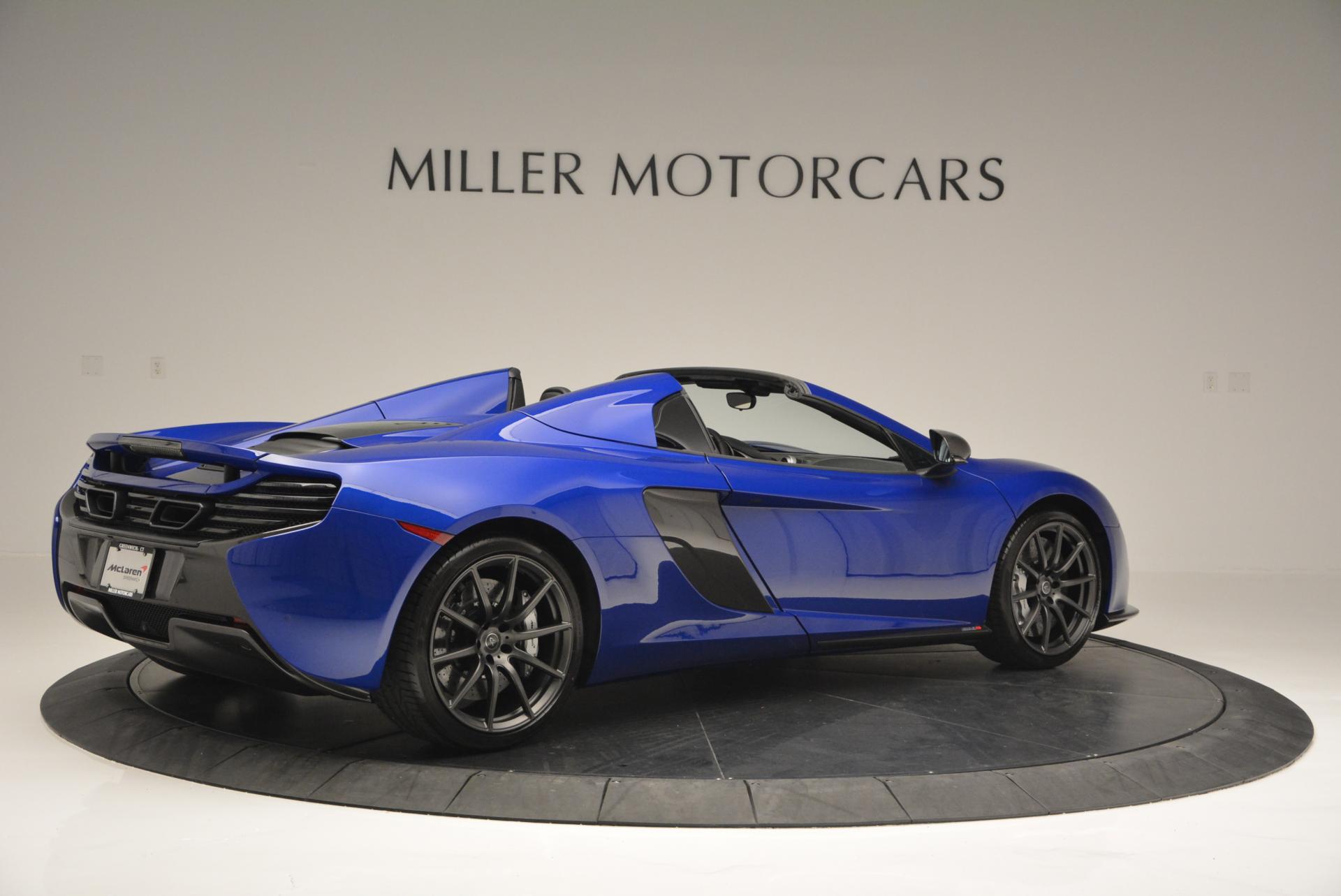 Used 2016 McLaren 650S Spider  For Sale In Greenwich, CT. Alfa Romeo of Greenwich, MC238 65_p8