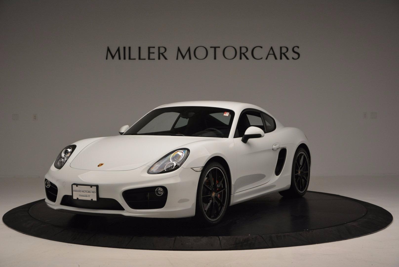 Used 2014 Porsche Cayman S For Sale In Greenwich, CT. Alfa Romeo of Greenwich, MC264A 657_main