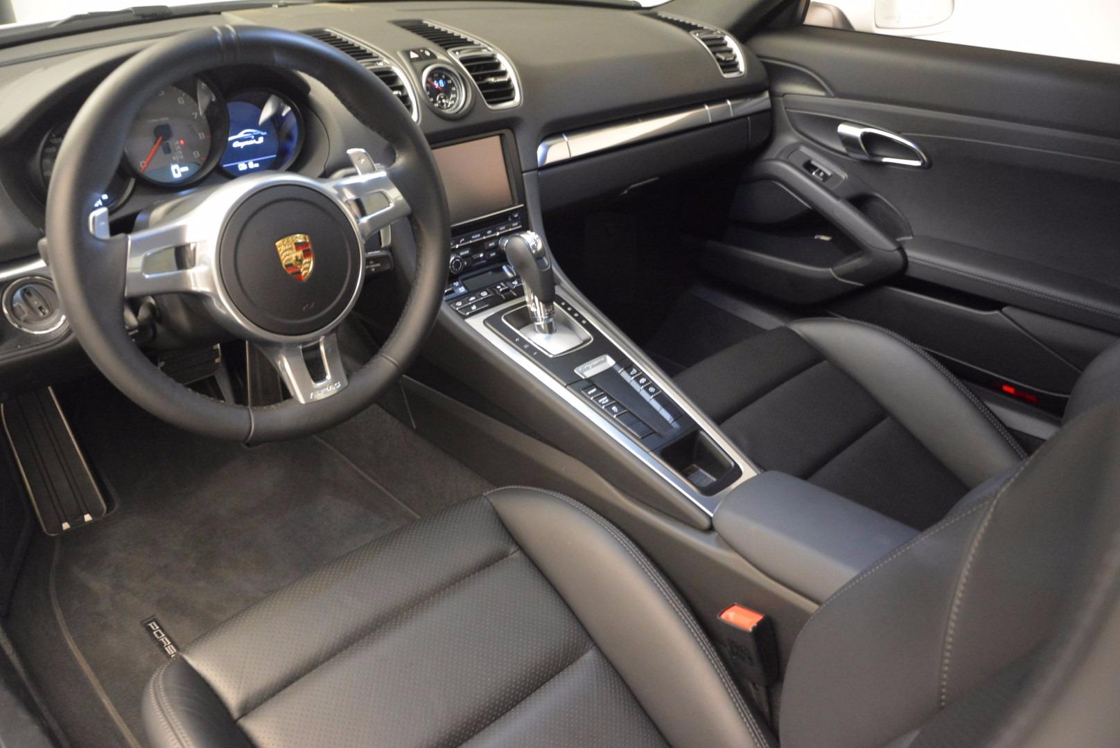 Used 2014 Porsche Cayman S For Sale In Greenwich, CT. Alfa Romeo of Greenwich, MC264A 657_p13
