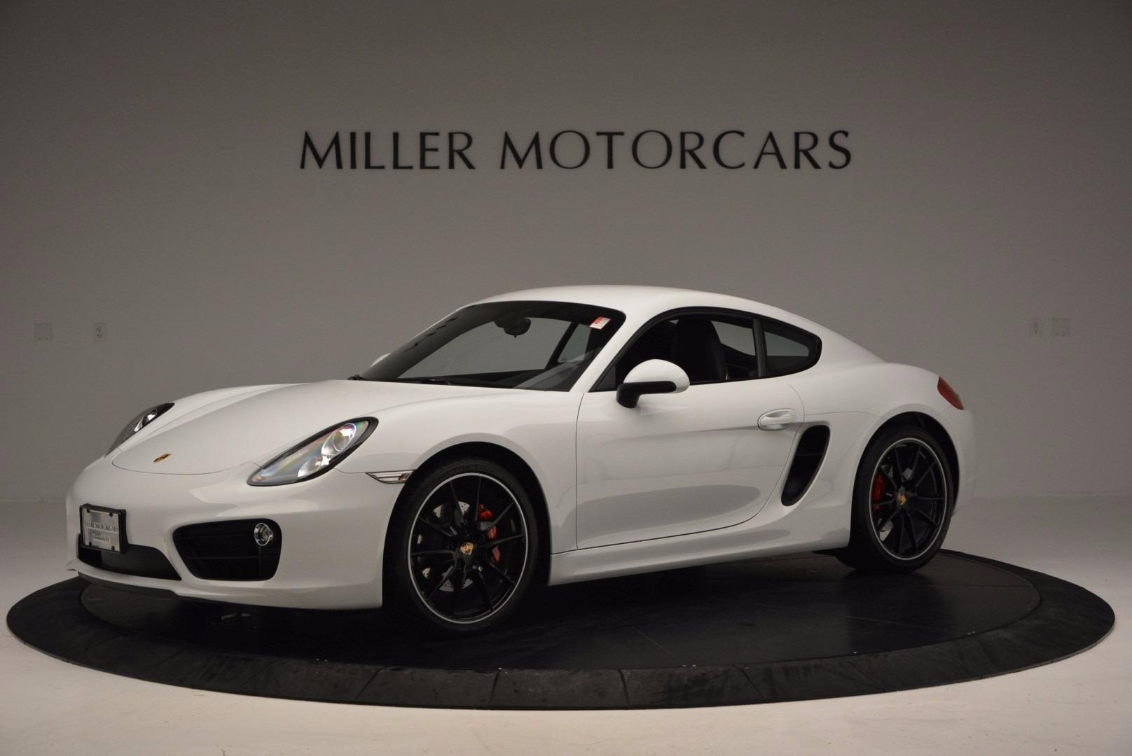 Used 2014 Porsche Cayman S For Sale In Greenwich, CT. Alfa Romeo of Greenwich, MC264A 657_p2