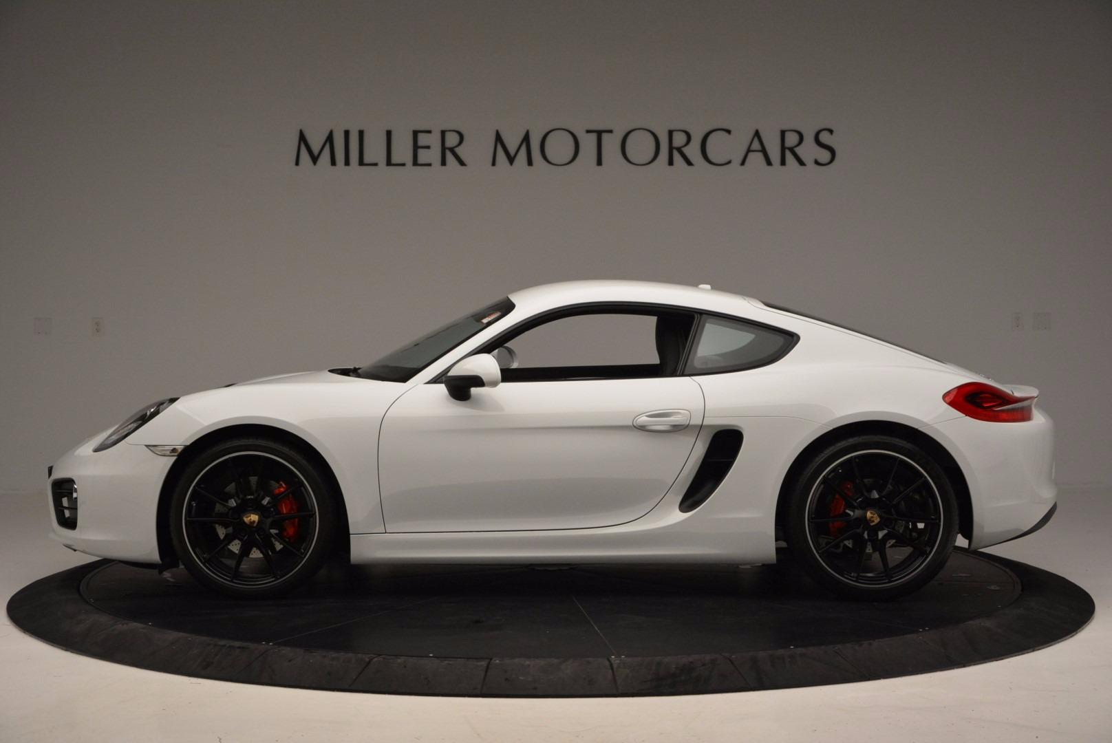 Used 2014 Porsche Cayman S For Sale In Greenwich, CT. Alfa Romeo of Greenwich, MC264A 657_p3