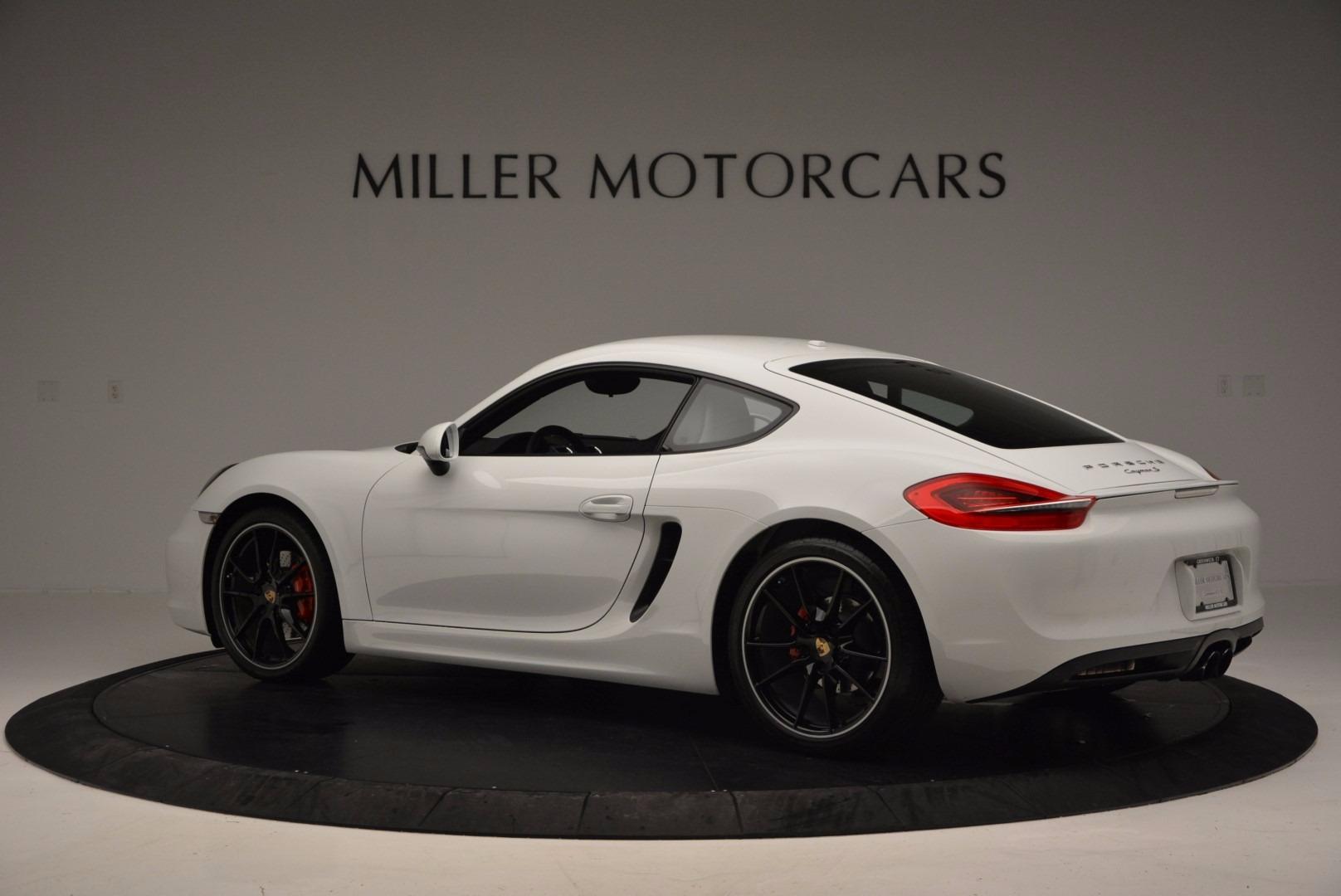 Used 2014 Porsche Cayman S For Sale In Greenwich, CT. Alfa Romeo of Greenwich, MC264A 657_p4