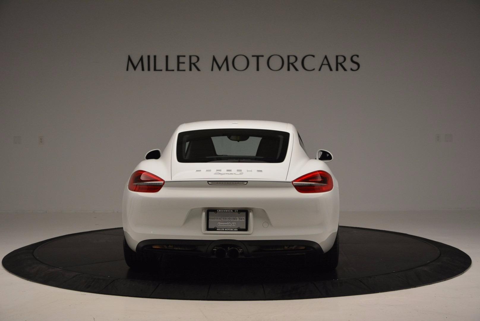 Used 2014 Porsche Cayman S For Sale In Greenwich, CT. Alfa Romeo of Greenwich, MC264A 657_p6