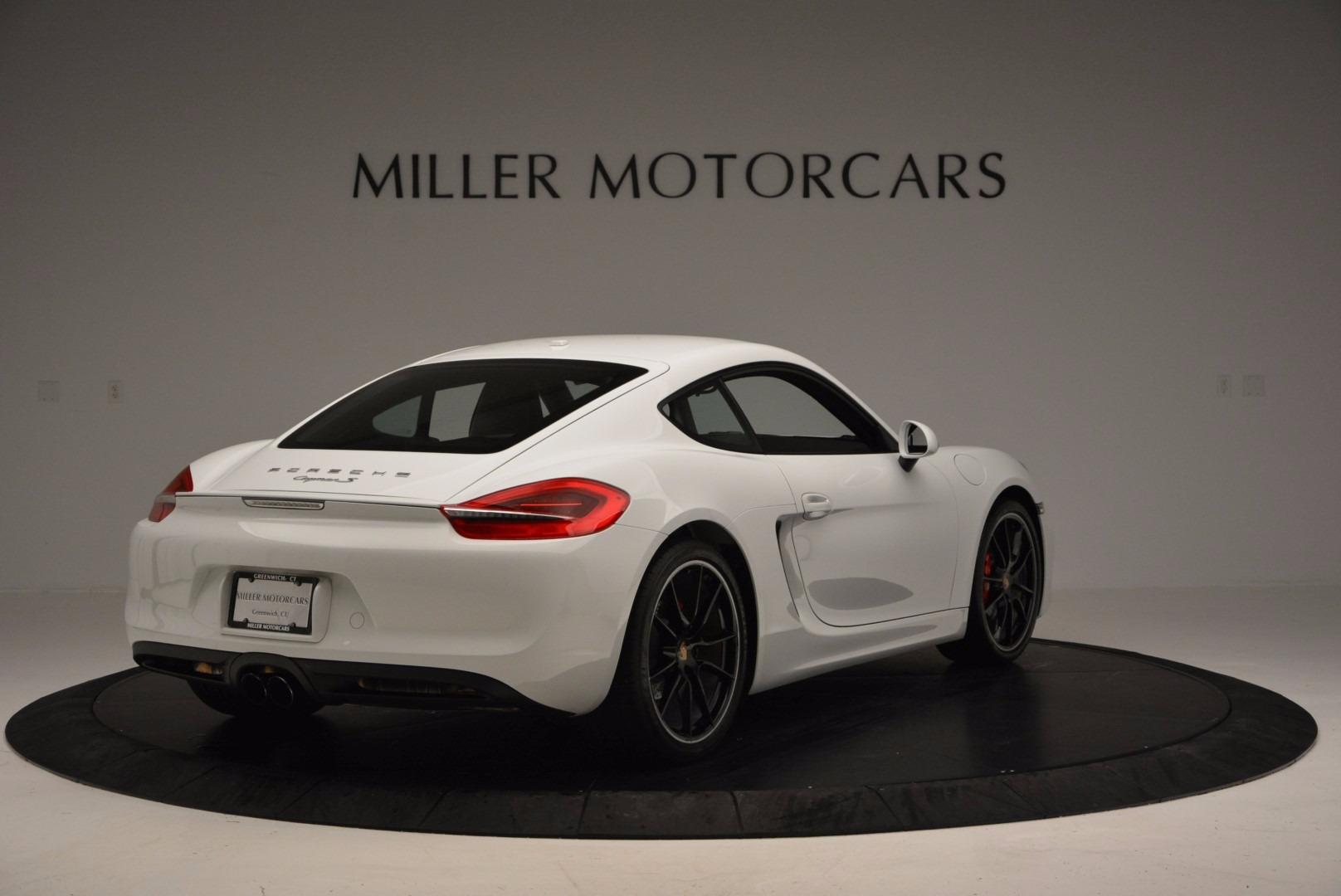 Used 2014 Porsche Cayman S For Sale In Greenwich, CT. Alfa Romeo of Greenwich, MC264A 657_p7