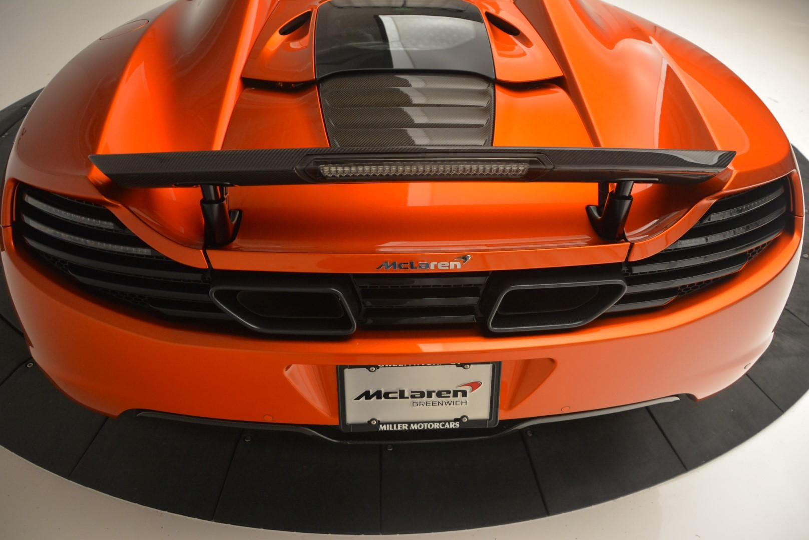 Used 2013 McLaren MP4-12C Base For Sale In Greenwich, CT. Alfa Romeo of Greenwich, 3070 66_p33