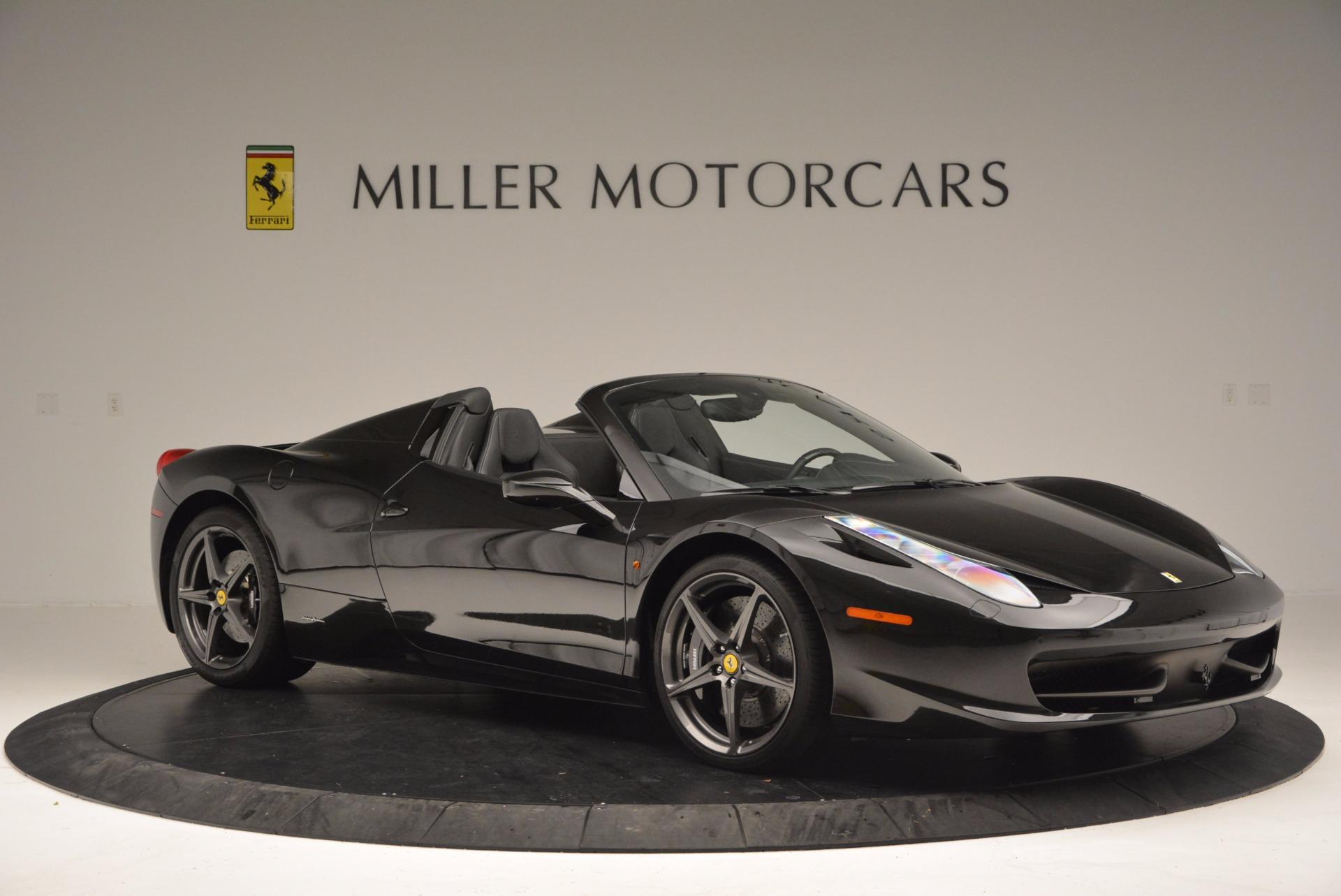 Used 2015 Ferrari 458 Spider  For Sale In Greenwich, CT. Alfa Romeo of Greenwich, 4350 660_p10