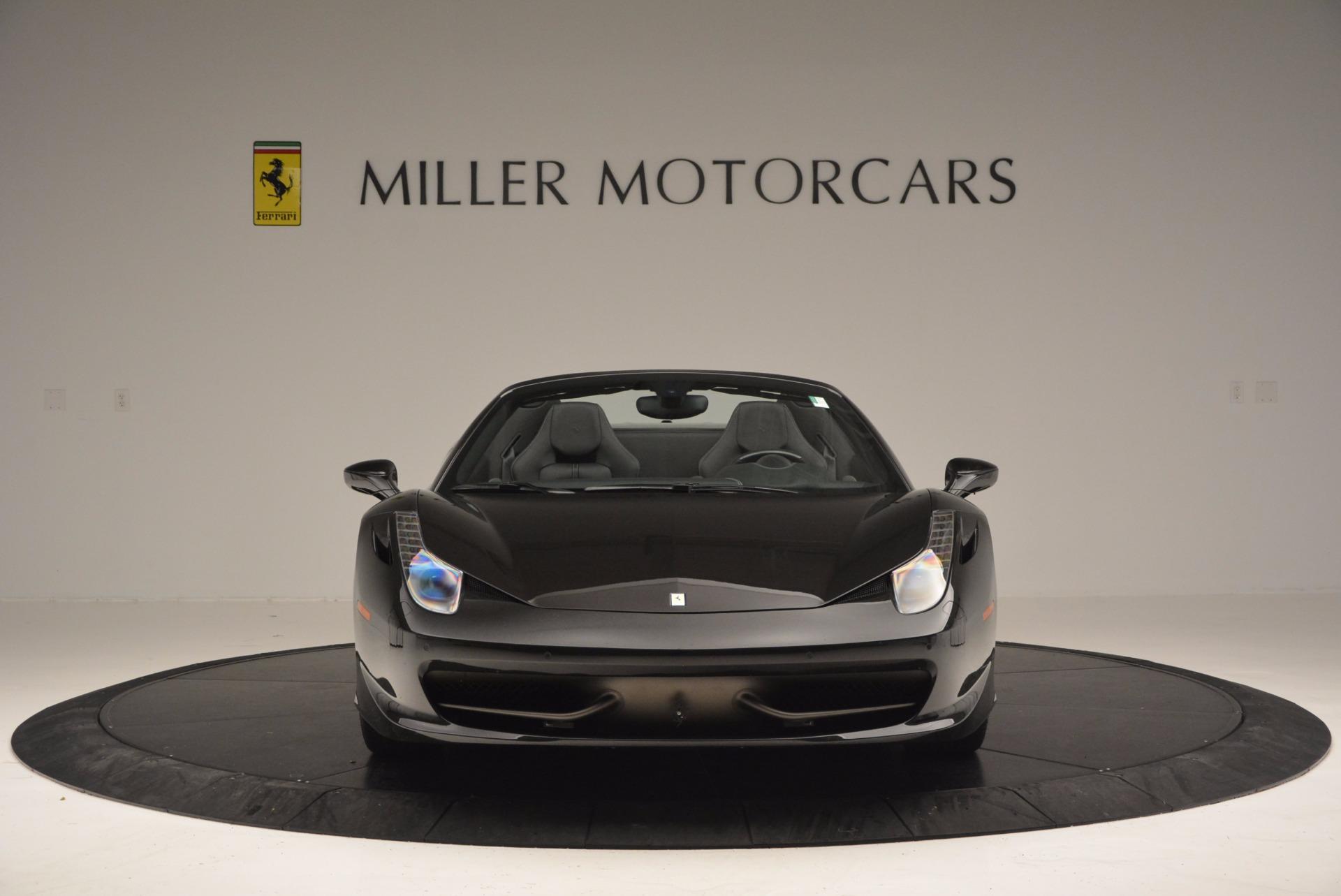 Used 2015 Ferrari 458 Spider  For Sale In Greenwich, CT. Alfa Romeo of Greenwich, 4350 660_p12