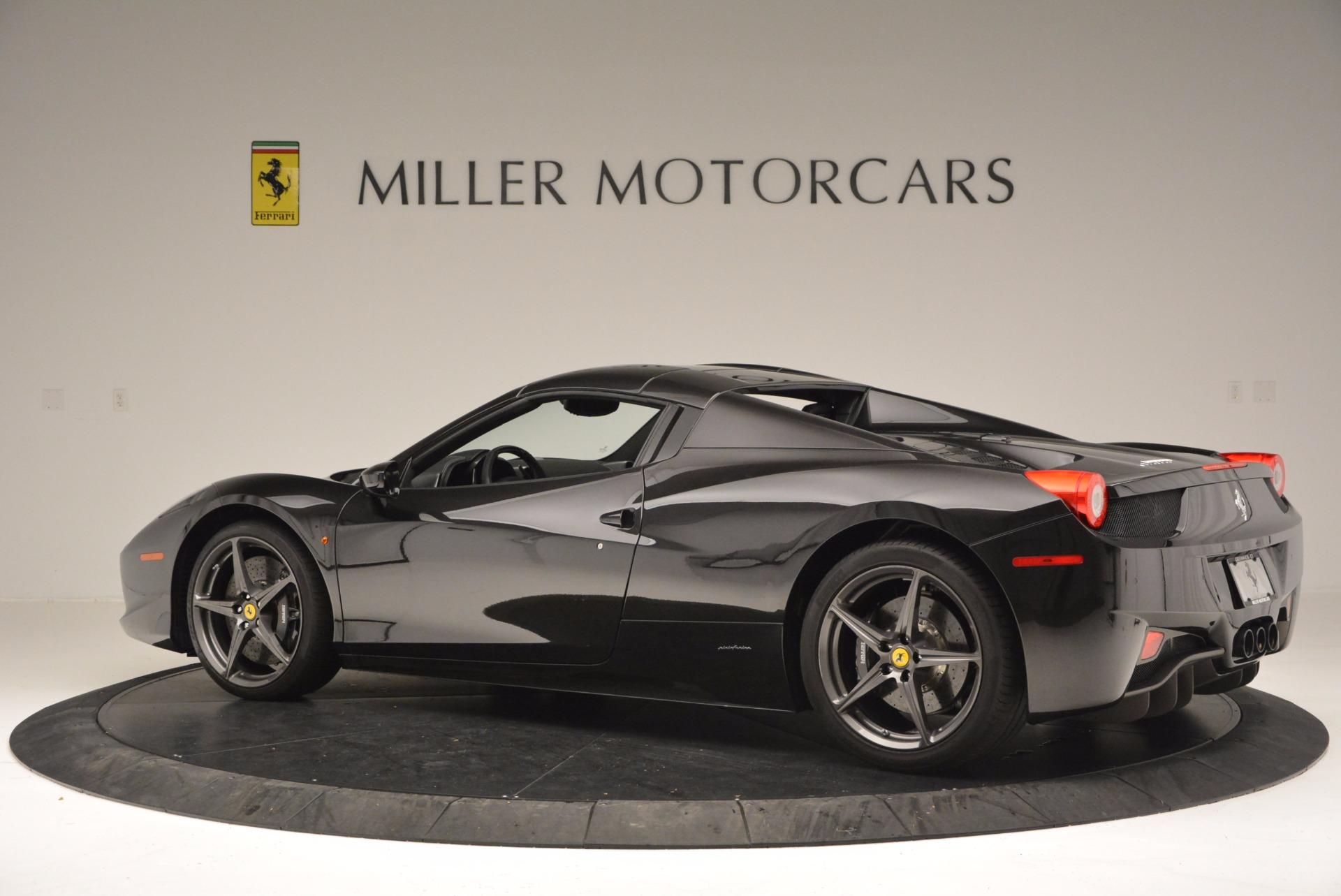 Used 2015 Ferrari 458 Spider  For Sale In Greenwich, CT. Alfa Romeo of Greenwich, 4350 660_p16