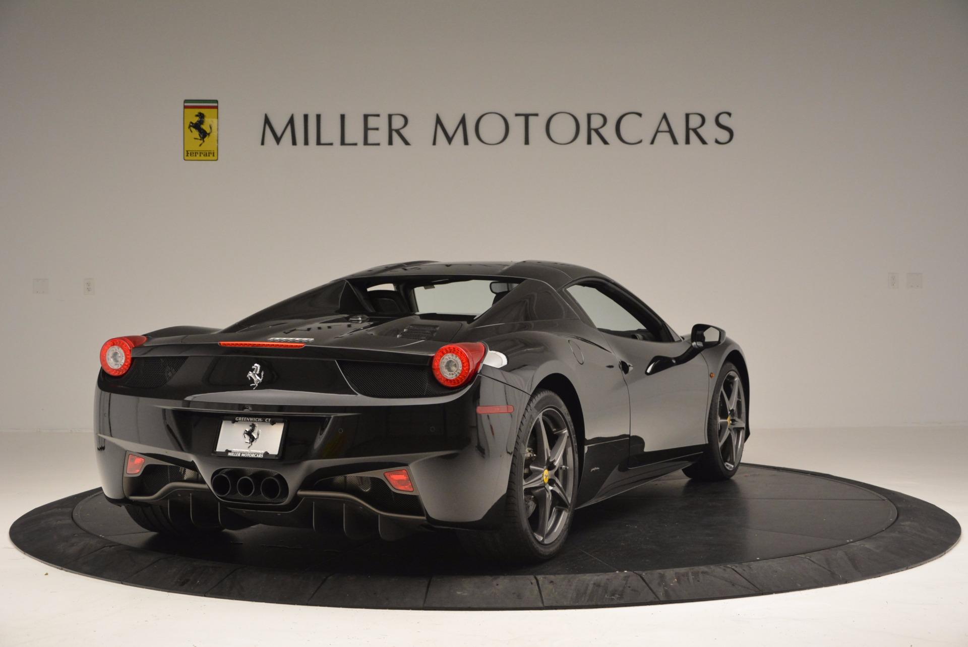 Used 2015 Ferrari 458 Spider  For Sale In Greenwich, CT. Alfa Romeo of Greenwich, 4350 660_p19