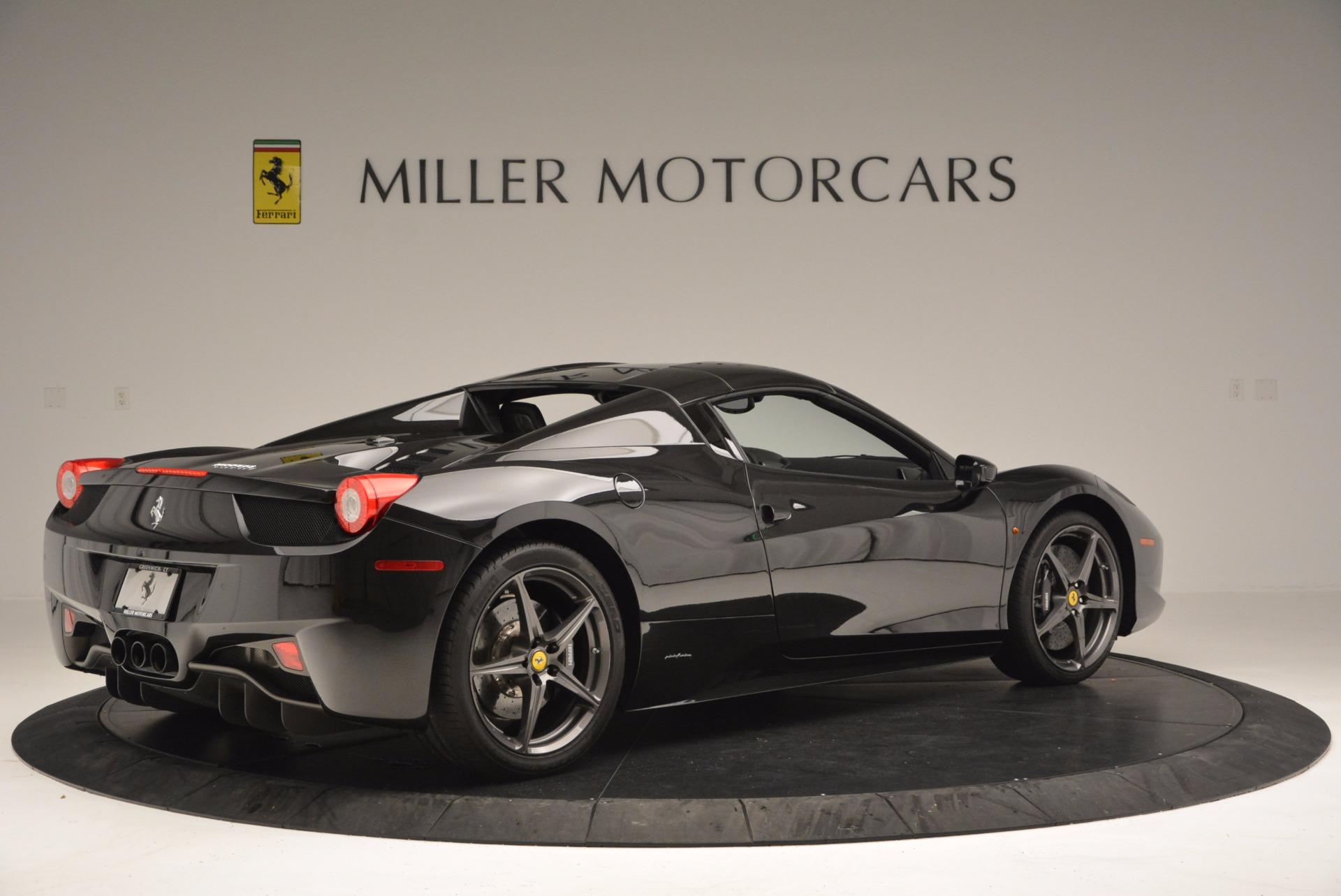 Used 2015 Ferrari 458 Spider  For Sale In Greenwich, CT. Alfa Romeo of Greenwich, 4350 660_p20