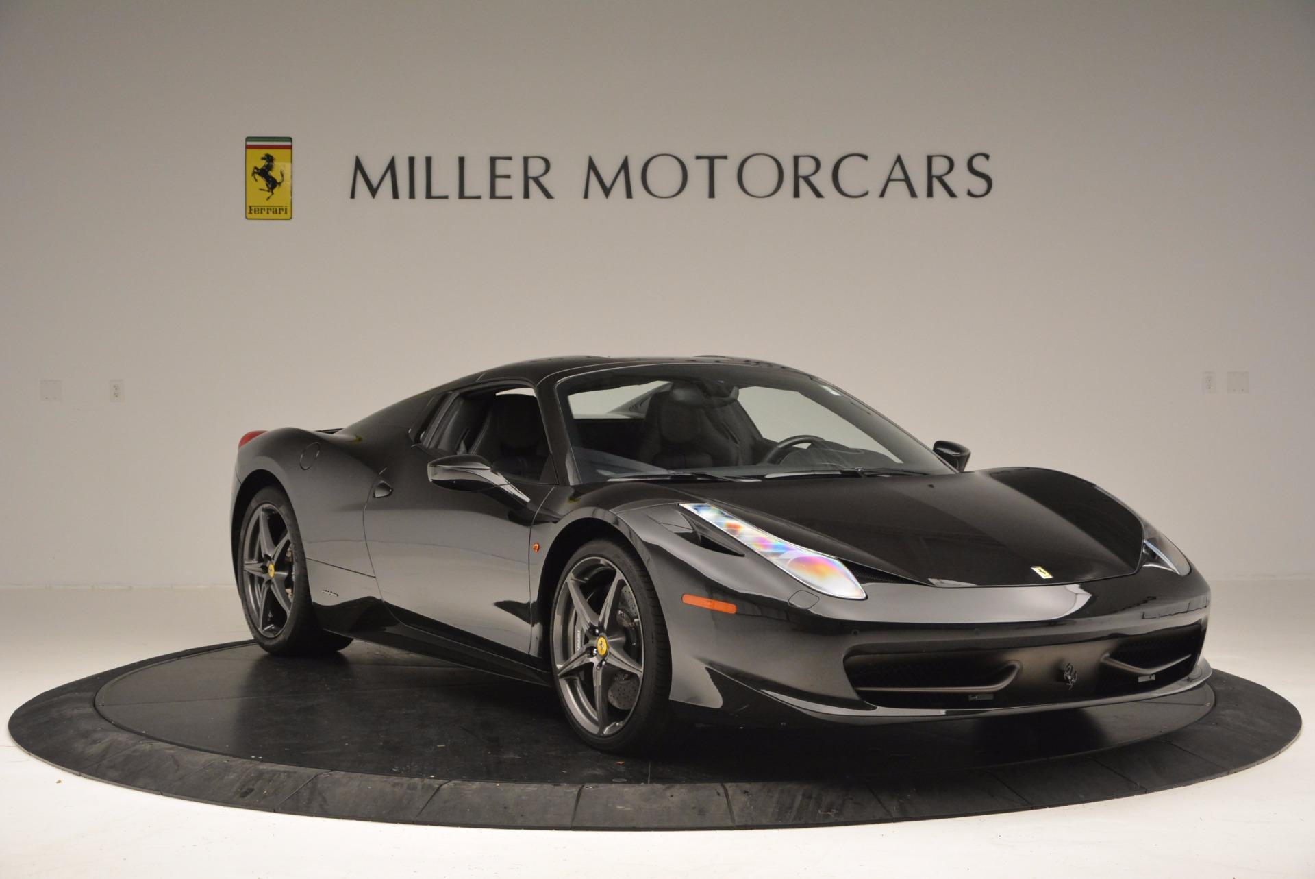 Used 2015 Ferrari 458 Spider  For Sale In Greenwich, CT. Alfa Romeo of Greenwich, 4350 660_p23