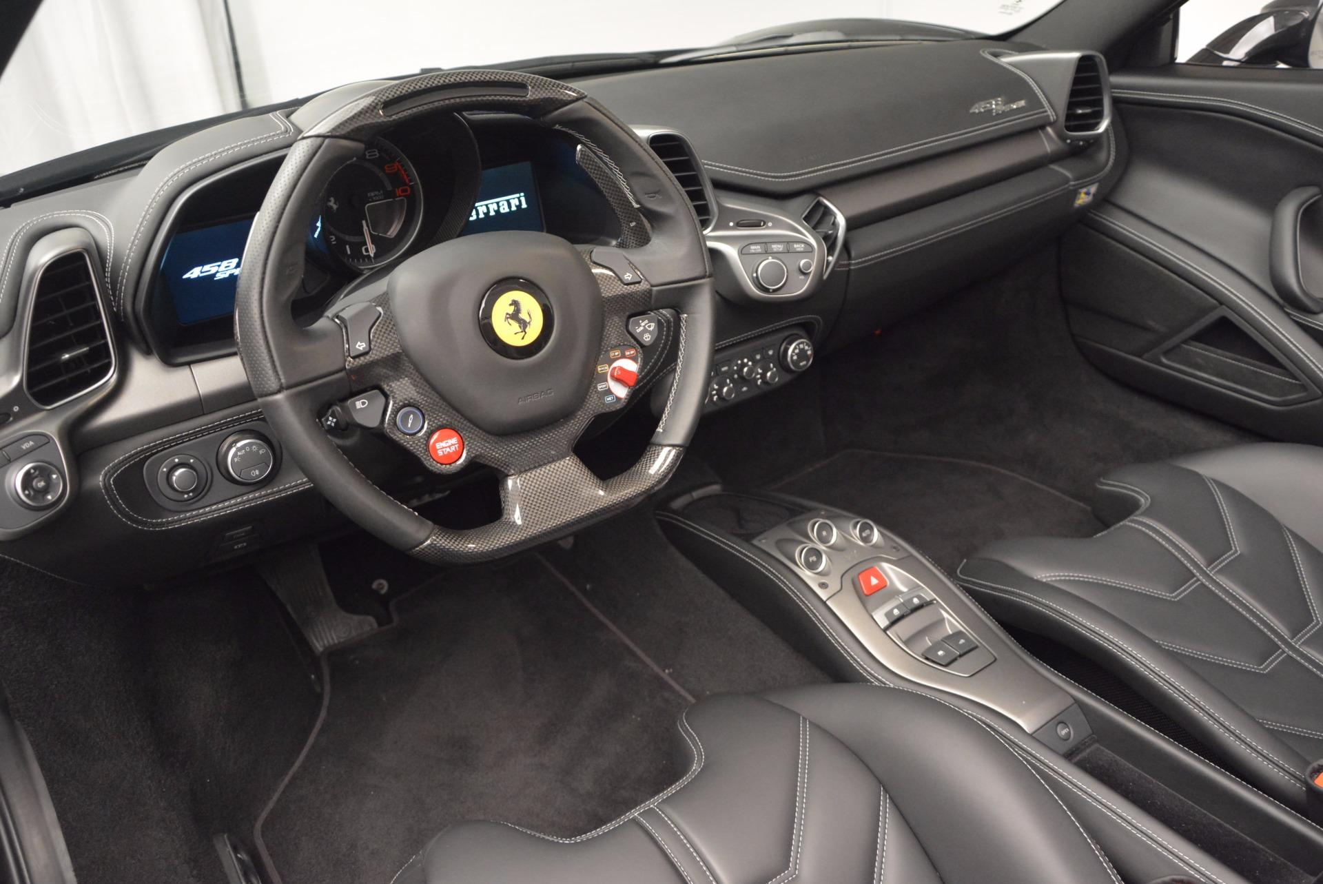 Used 2015 Ferrari 458 Spider  For Sale In Greenwich, CT. Alfa Romeo of Greenwich, 4350 660_p25