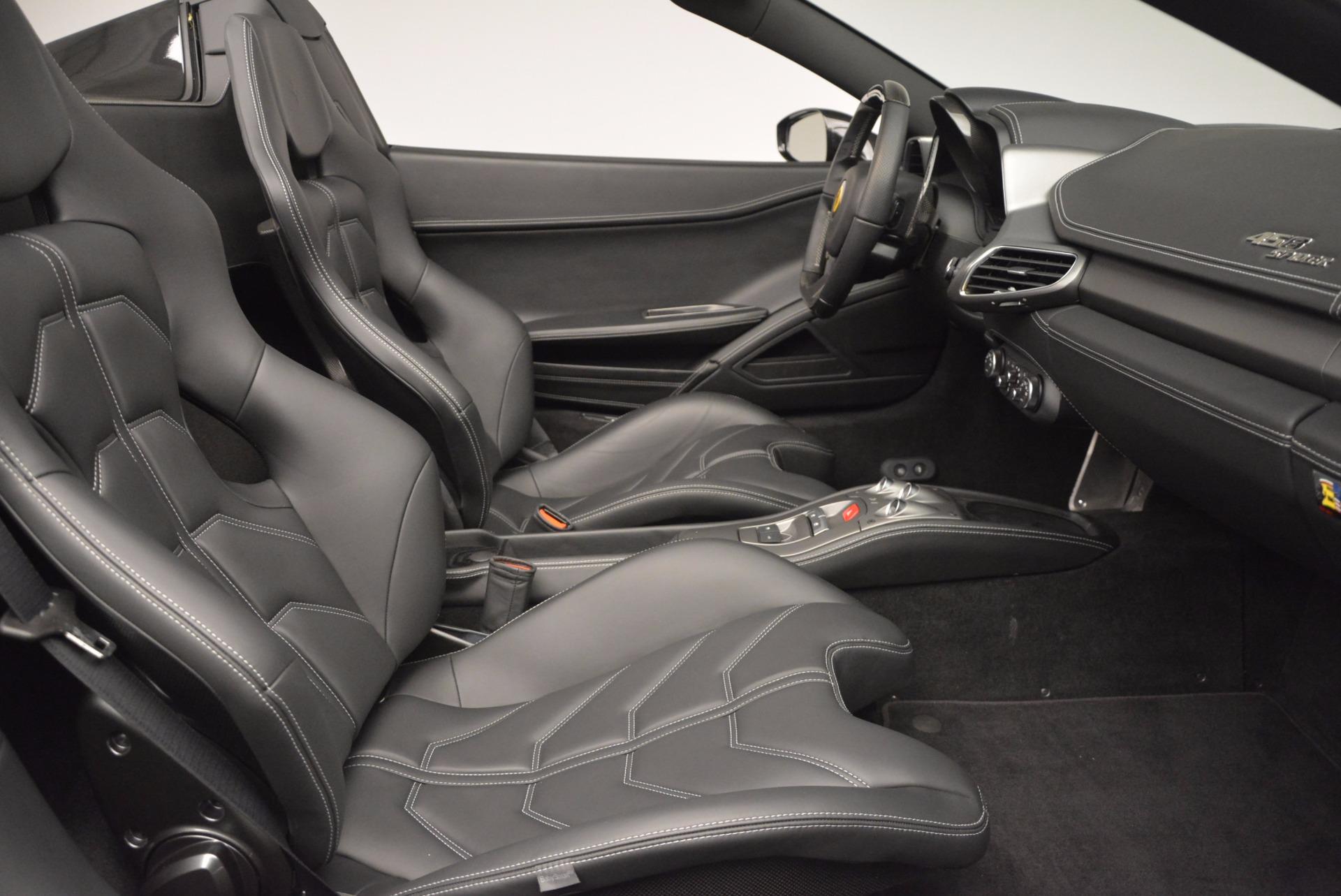 Used 2015 Ferrari 458 Spider  For Sale In Greenwich, CT. Alfa Romeo of Greenwich, 4350 660_p30