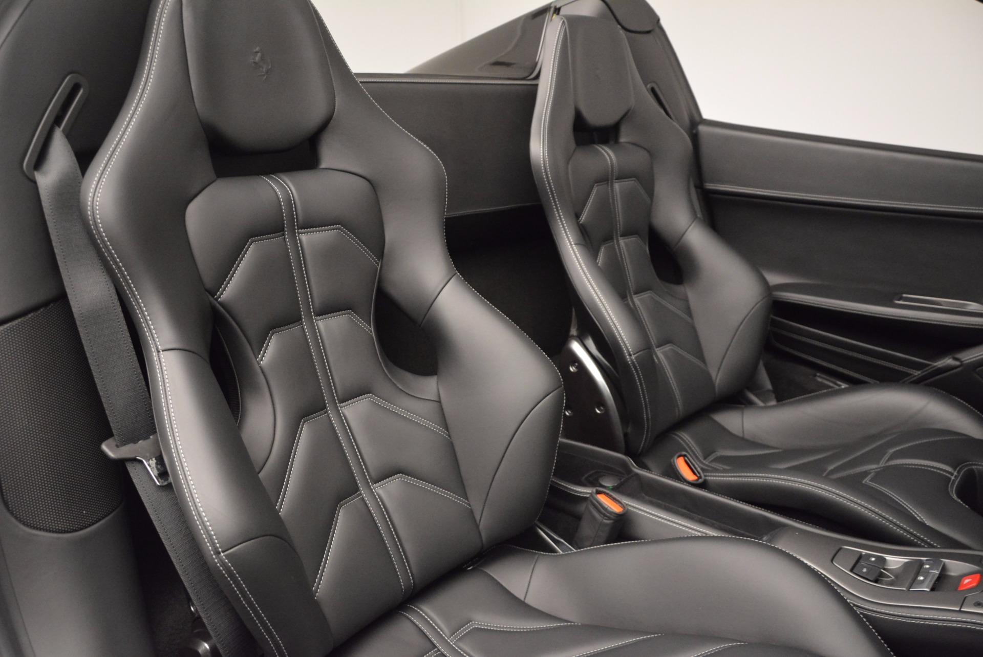 Used 2015 Ferrari 458 Spider  For Sale In Greenwich, CT. Alfa Romeo of Greenwich, 4350 660_p31