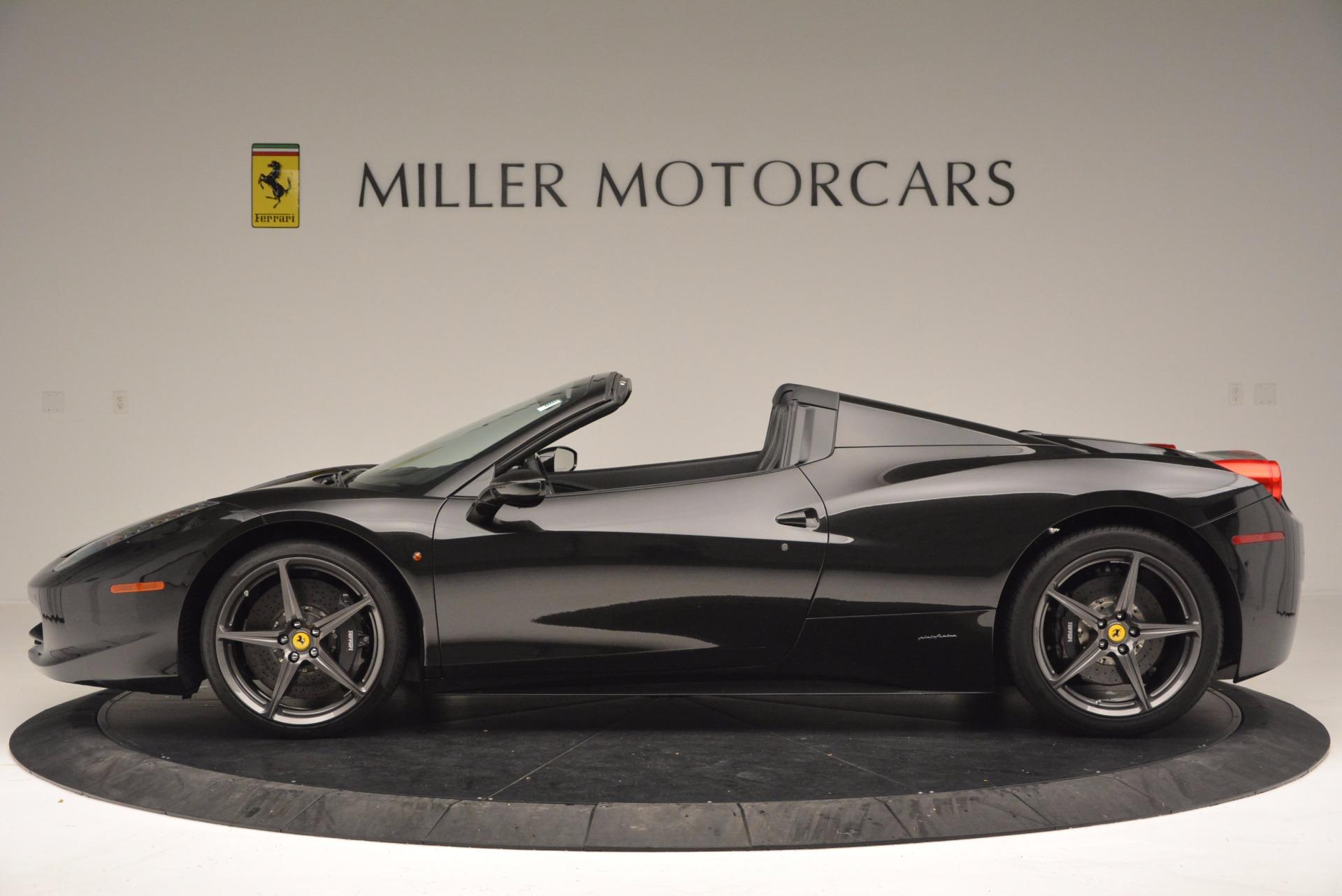 Used 2015 Ferrari 458 Spider  For Sale In Greenwich, CT. Alfa Romeo of Greenwich, 4350 660_p3