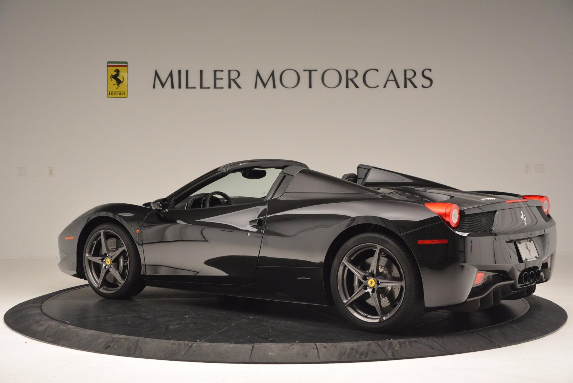 Used 2015 Ferrari 458 Spider  For Sale In Greenwich, CT. Alfa Romeo of Greenwich, 4350 660_p4