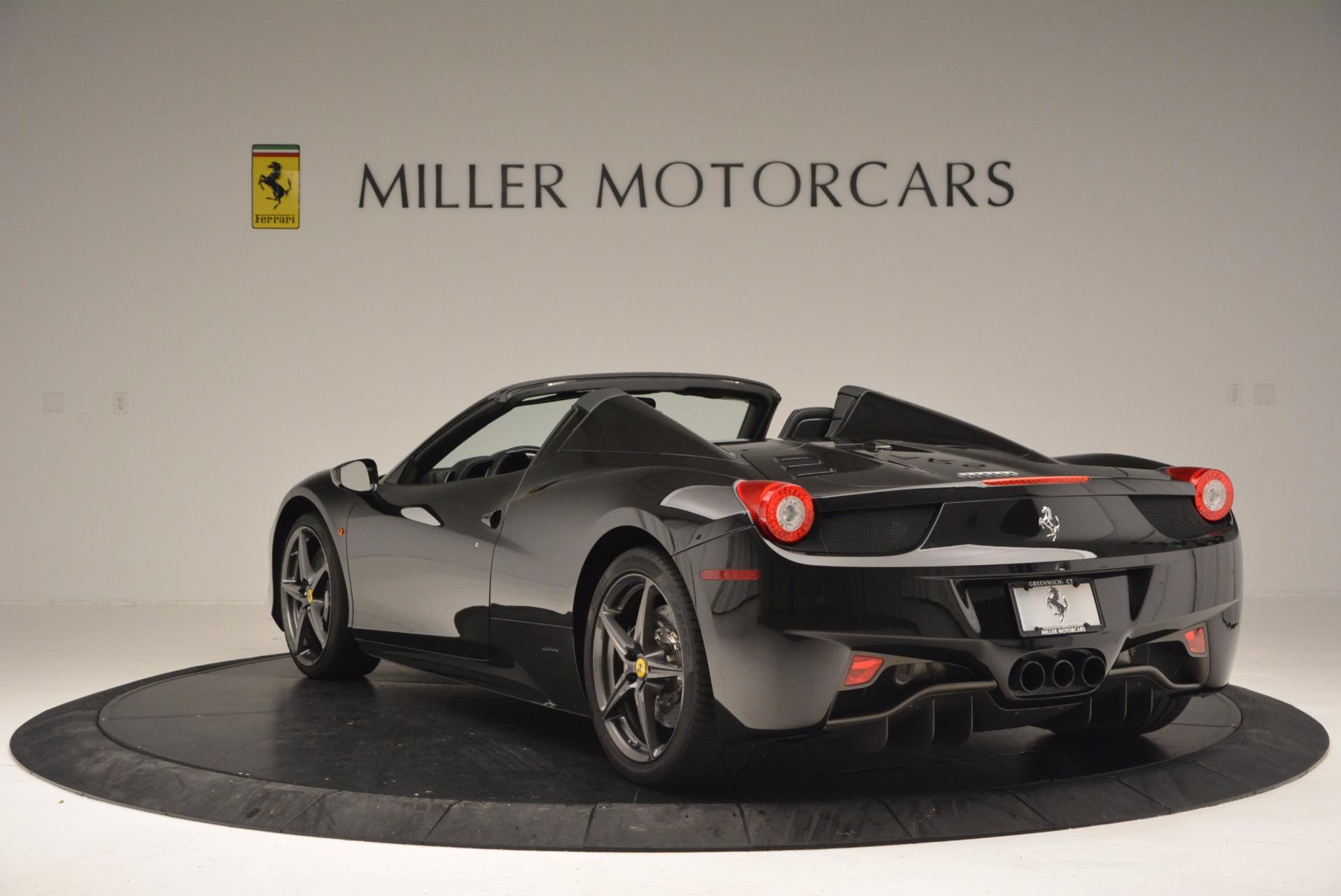 Used 2015 Ferrari 458 Spider  For Sale In Greenwich, CT. Alfa Romeo of Greenwich, 4350 660_p5