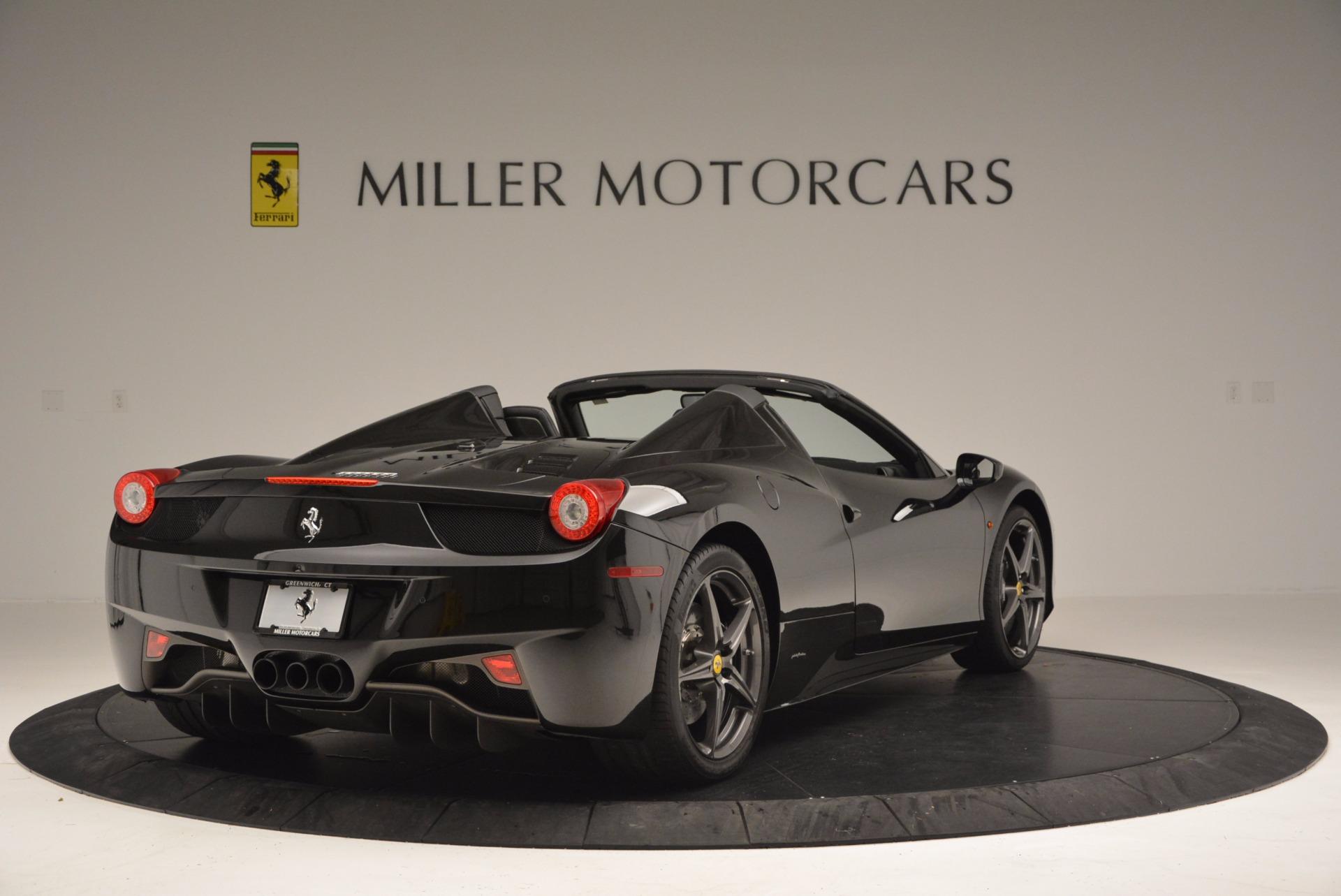 Used 2015 Ferrari 458 Spider  For Sale In Greenwich, CT. Alfa Romeo of Greenwich, 4350 660_p7