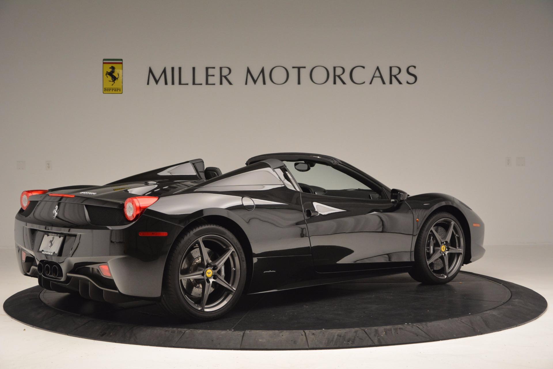 Used 2015 Ferrari 458 Spider  For Sale In Greenwich, CT. Alfa Romeo of Greenwich, 4350 660_p8