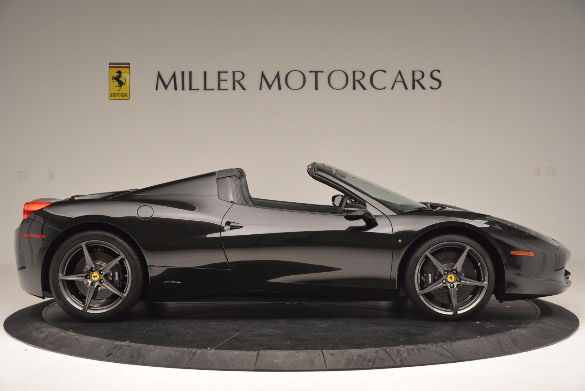 Used 2015 Ferrari 458 Spider  For Sale In Greenwich, CT. Alfa Romeo of Greenwich, 4350 660_p9