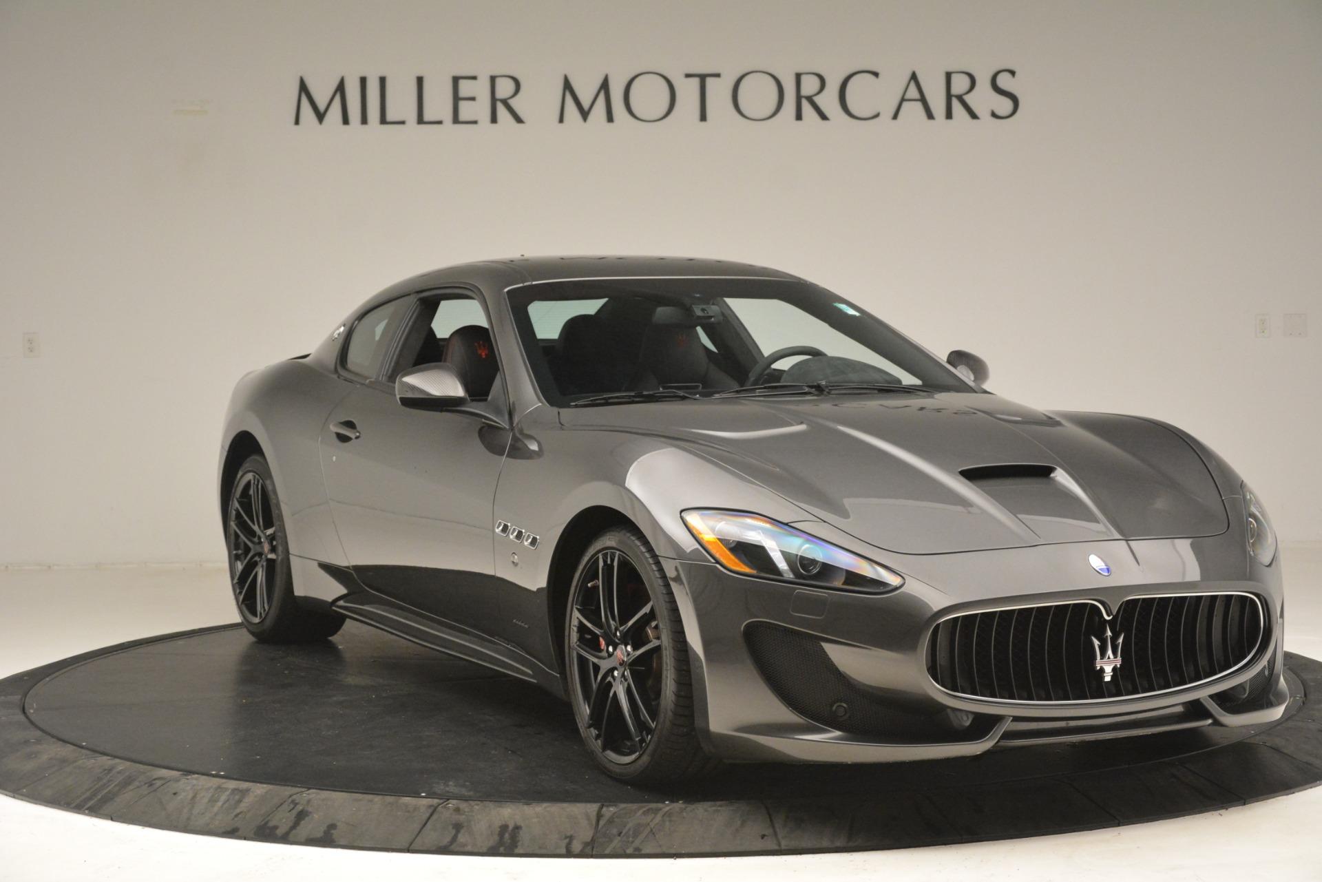 Used 2017 Maserati GranTurismo GT Sport Special Edition For Sale In Greenwich, CT. Alfa Romeo of Greenwich, M2016A 665_p11