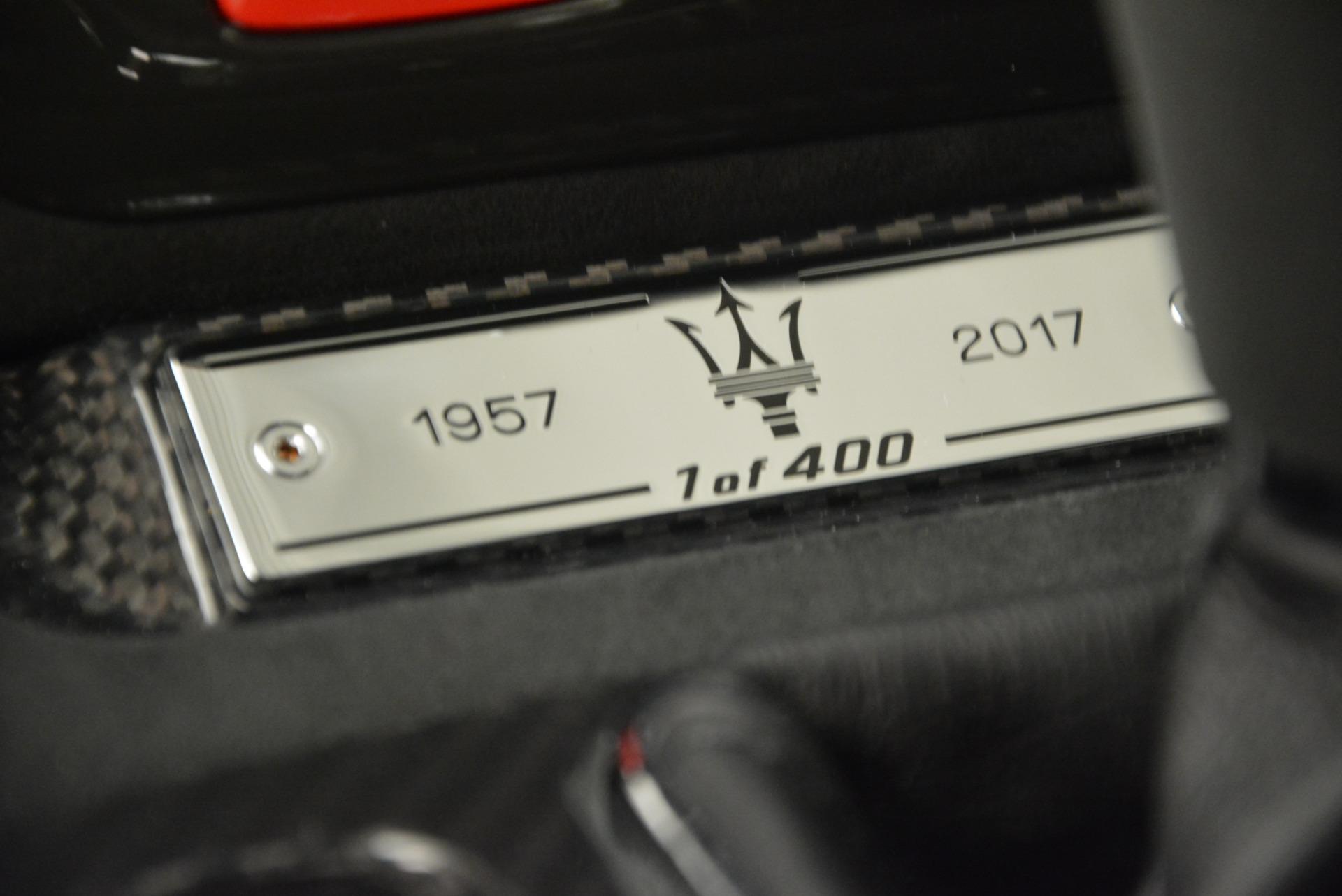Used 2017 Maserati GranTurismo GT Sport Special Edition For Sale In Greenwich, CT. Alfa Romeo of Greenwich, M2016A 665_p36