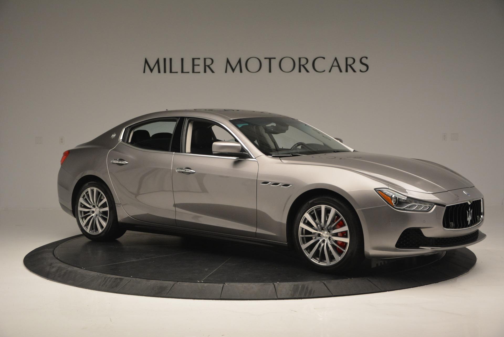 Used 2016 Maserati Ghibli S Q4  EX- LOANER For Sale In Greenwich, CT. Alfa Romeo of Greenwich, M1551 668_p10