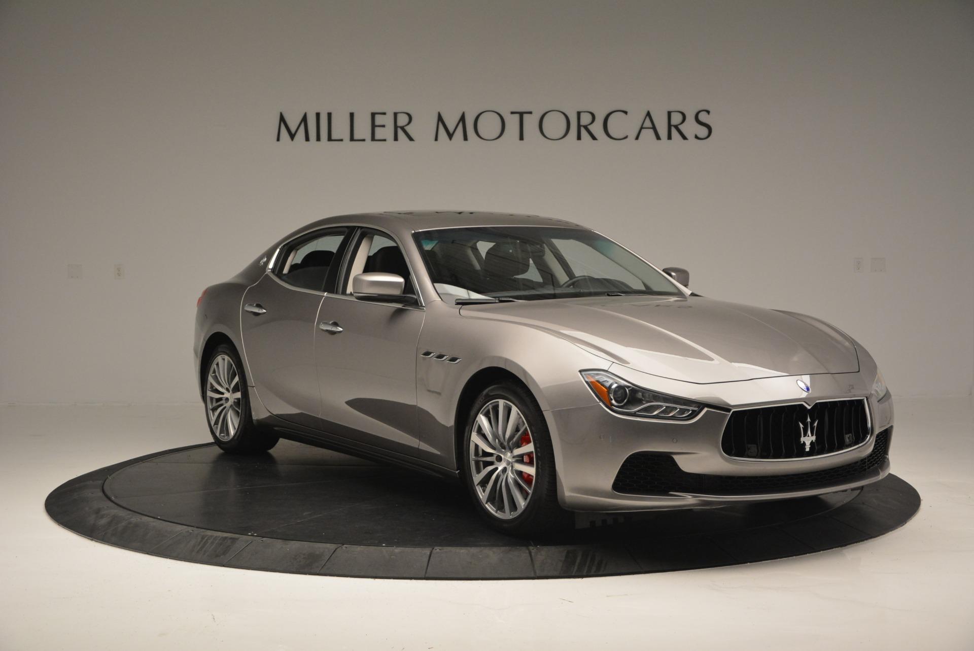 Used 2016 Maserati Ghibli S Q4  EX- LOANER For Sale In Greenwich, CT. Alfa Romeo of Greenwich, M1551 668_p11